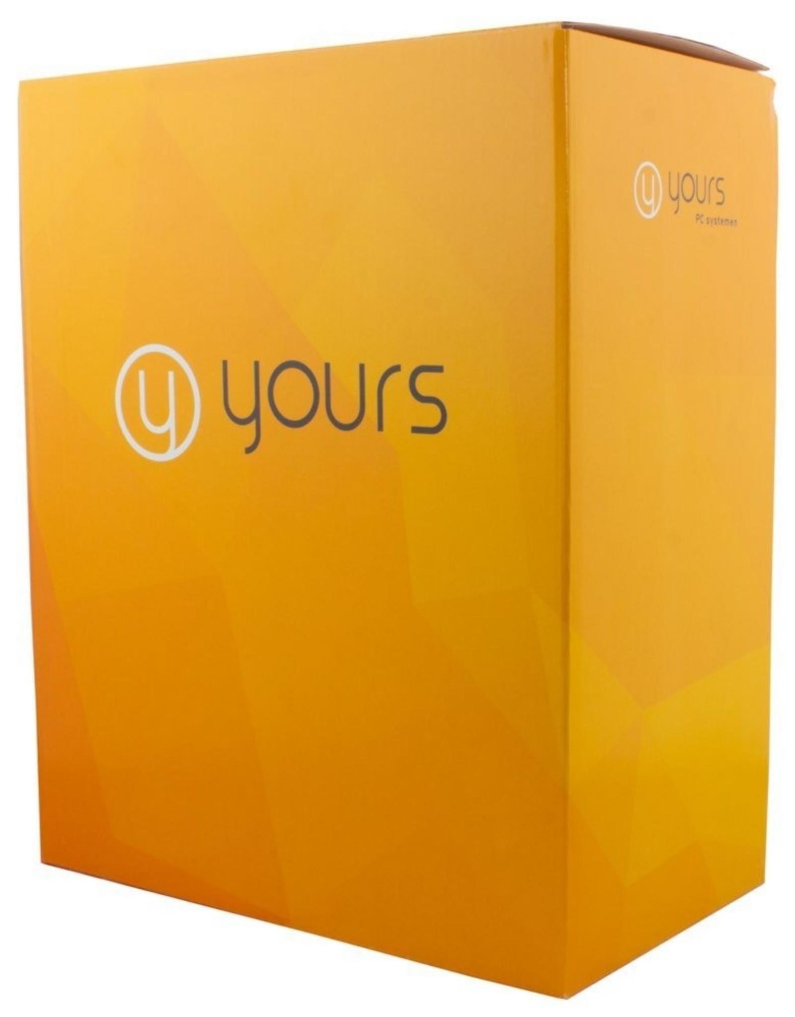 Yours! YOURS WHITE / mATX / Ryzen3 / 8GB / 1TB + 240GB / HDMI / W10