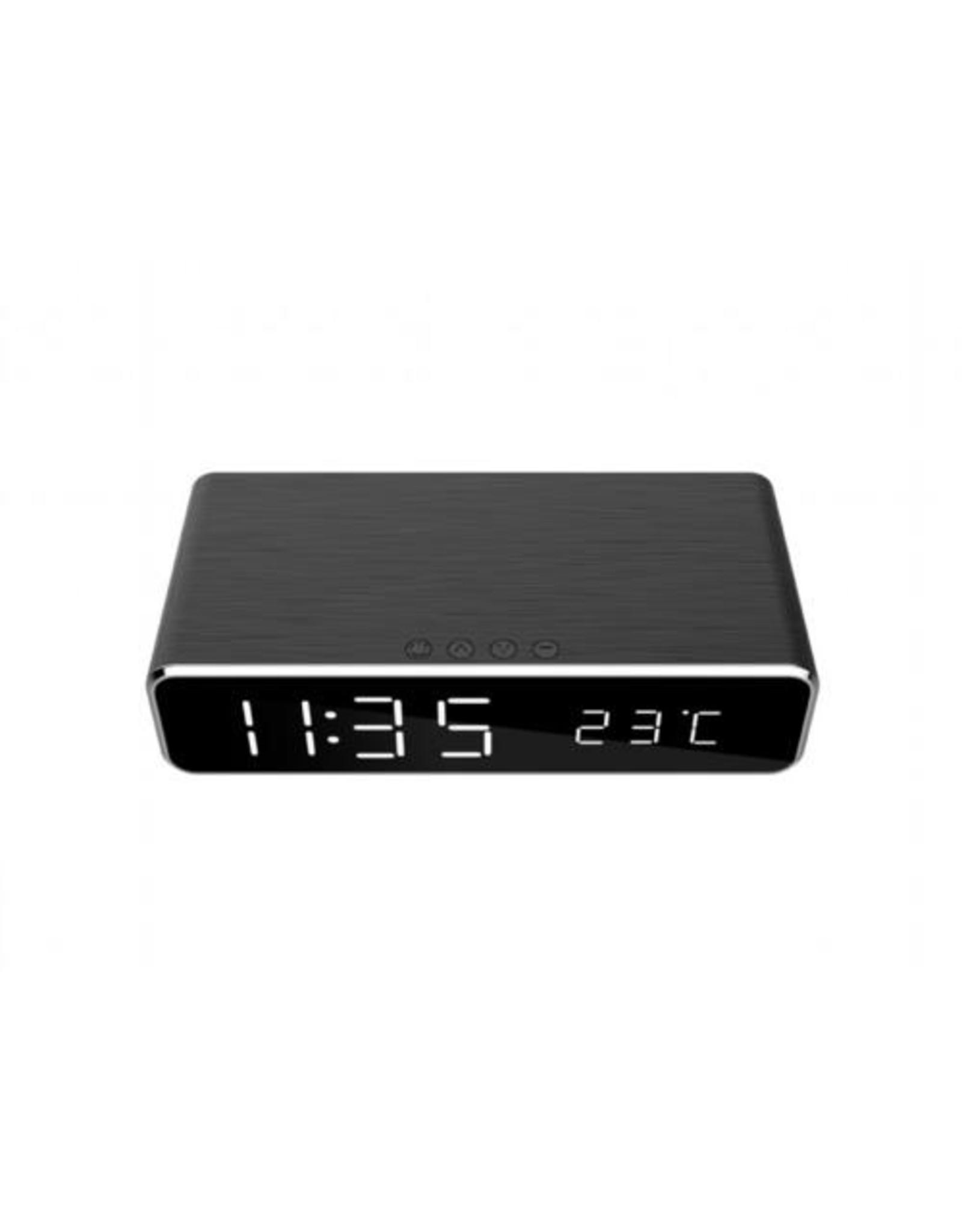 OEM Gembird DAC-WPC-01 wekker Digitale wekker Zwart