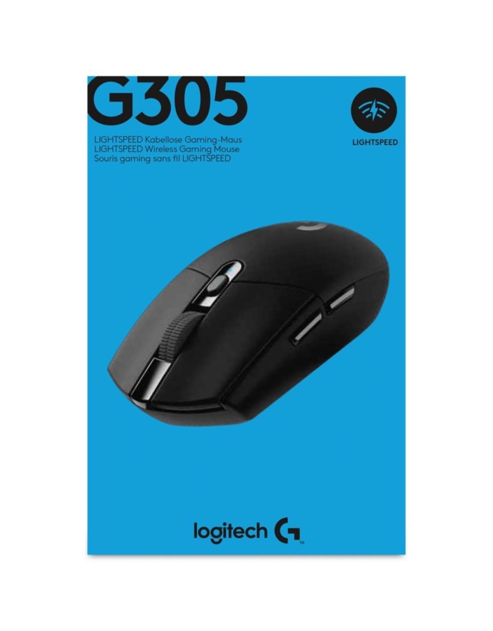 Logitech G305 muis RF Draadloos Optisch 12000 DPI Rechtshand