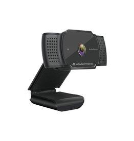 OEM Conceptronic AMDIS02B webcam 5 MP 2592 x 1944 Pixels USB 2.0 Zwart
