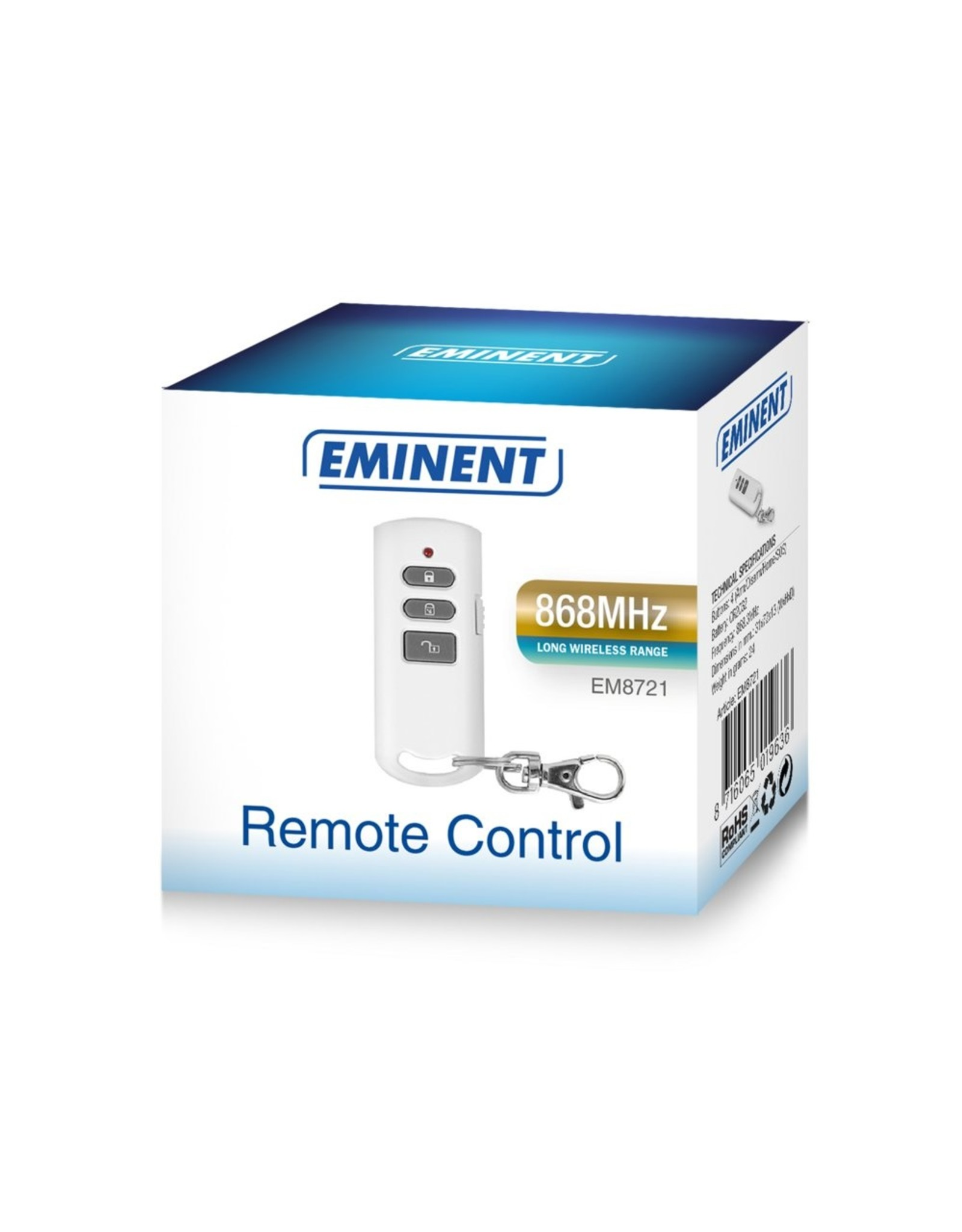 Eminent Remote control 868MHz wireless alarm system
