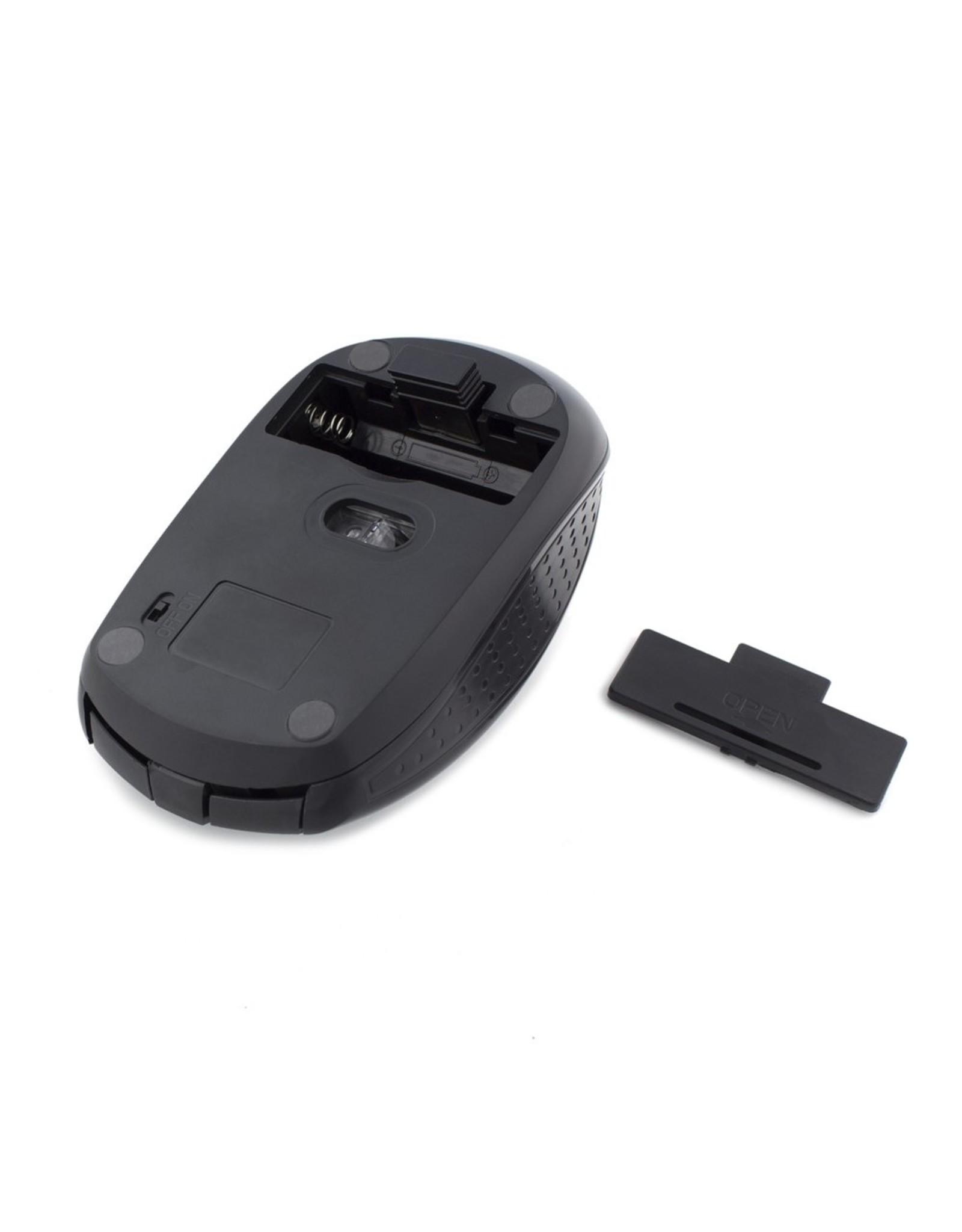 Ewent Wireless mouse black 1000/1200/1600dpi