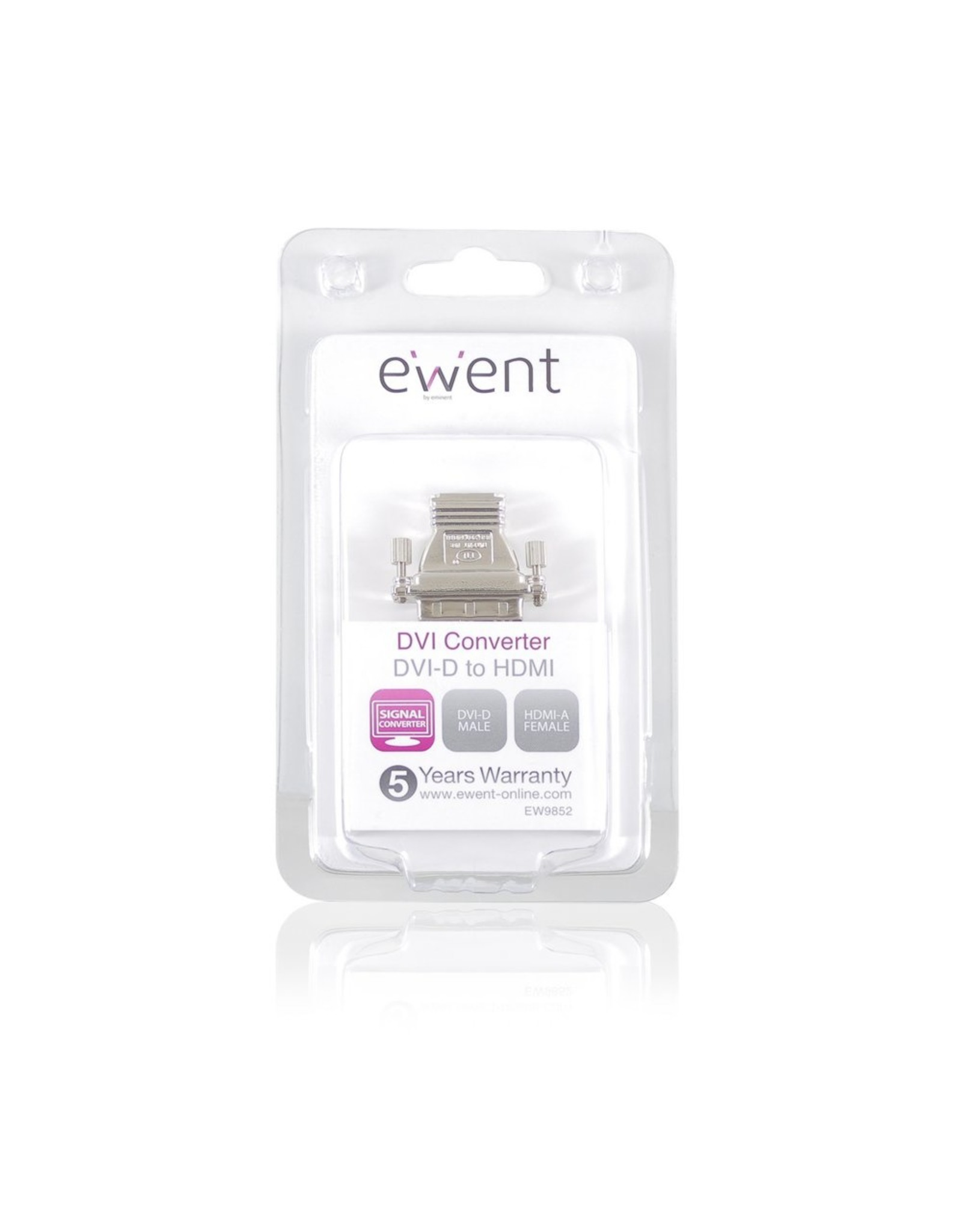 Ewent Adapter DVI-D male - HDMI A female