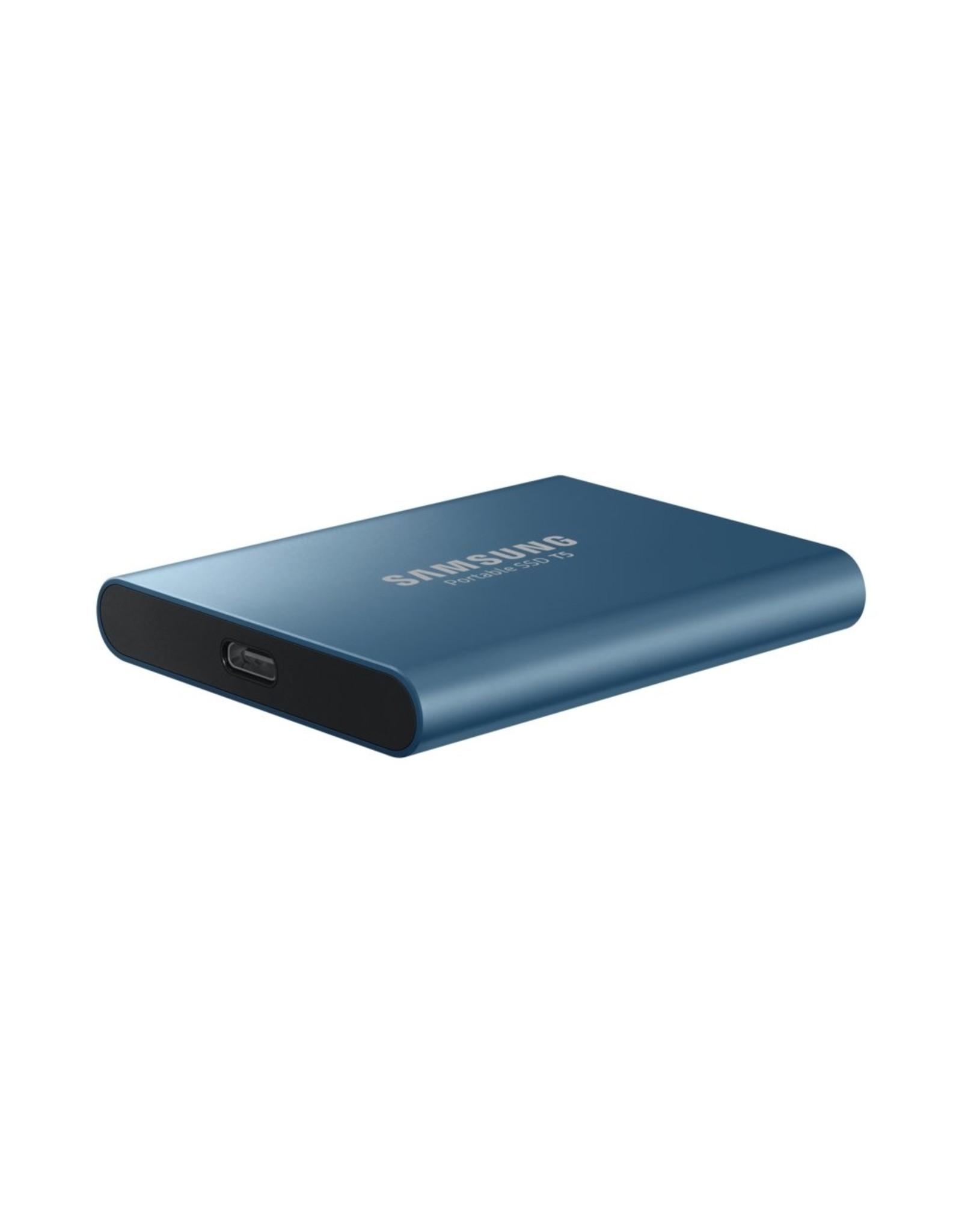 Samsung SSD external  MU-PA500B 500GB Blauw