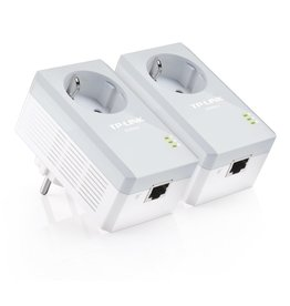 TP-Link TP-LINK TL-PA4010P KIT V5 PowerLine-netwerkadapter 600 Mbit/s Ethernet LAN Wit 2 stuk(s)