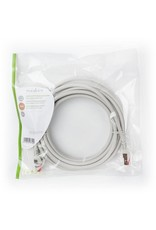 OEM S/FTP CAT6 RJ45netwerkkabel 5,0 m grey
