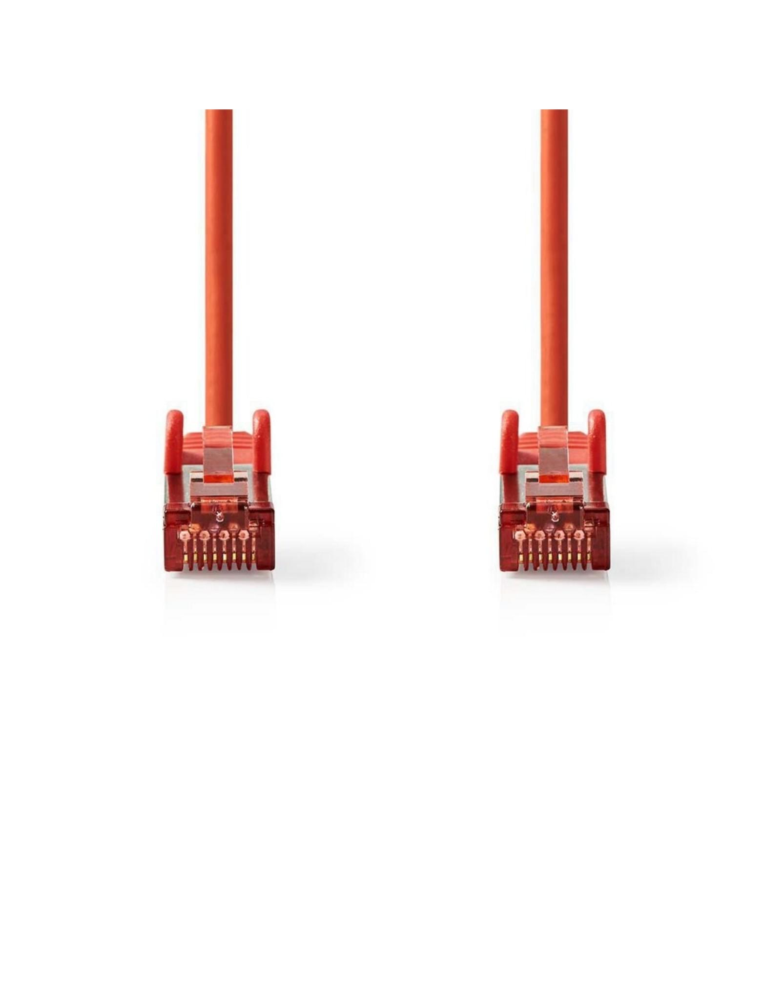 Nedis CAT6 S/FTP-netwerkkabel/RJ45 2m Rood