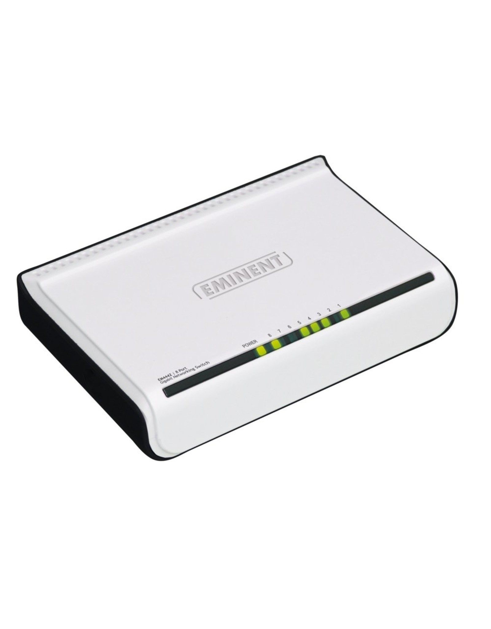 Eminent Gigabit Switch 8-Poorts