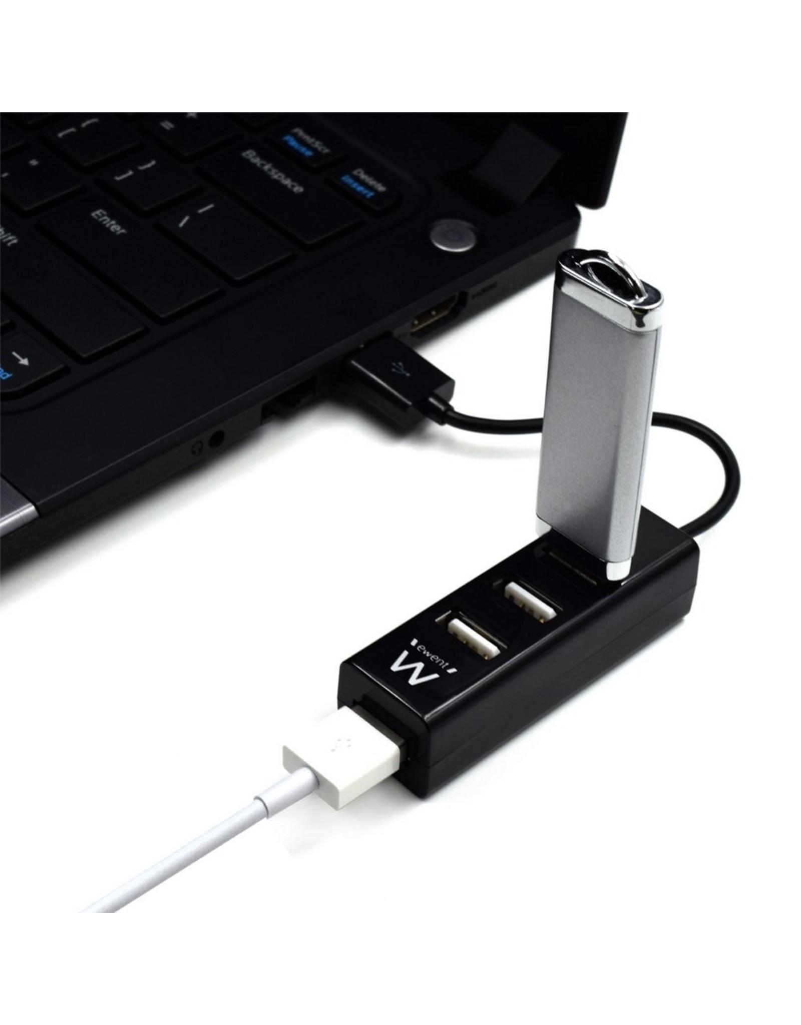 Ewent USB 2.0 Hub mini 4 port