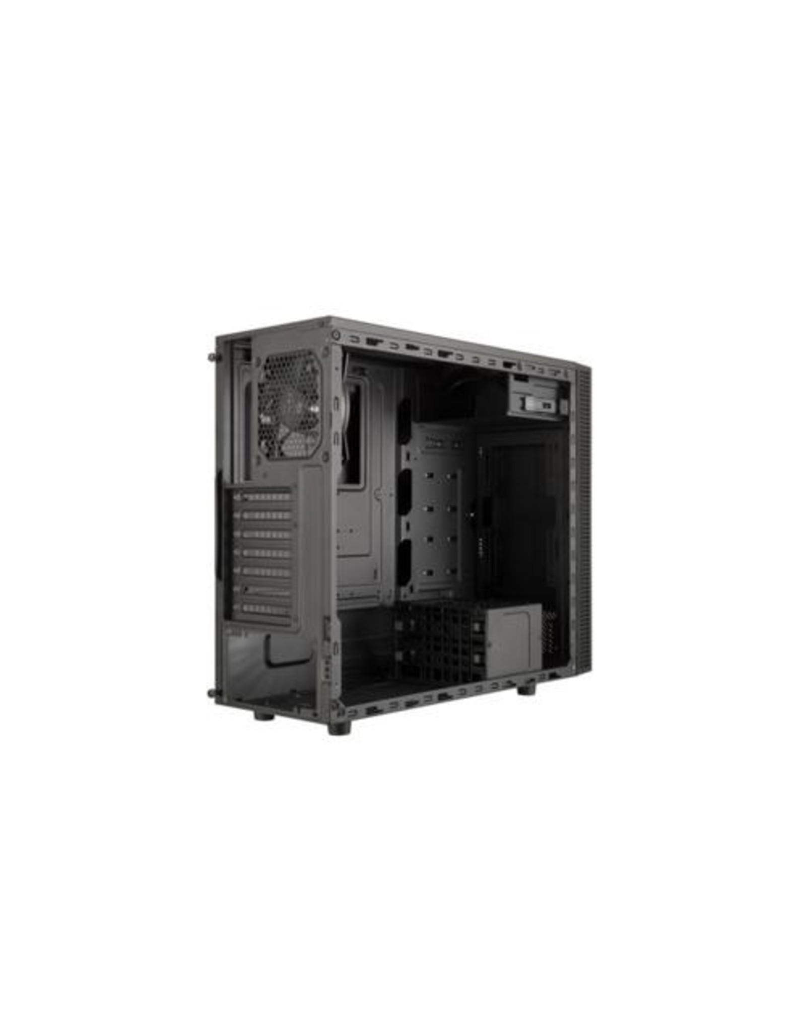 CoolerMaster Case  MasterBox E500L MidiTower Black/ Blue mATX