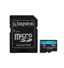 Kingston Technology Canvas Go! Plus flashgeheugen 64 GB MicroSD Klasse 10 UHS-I