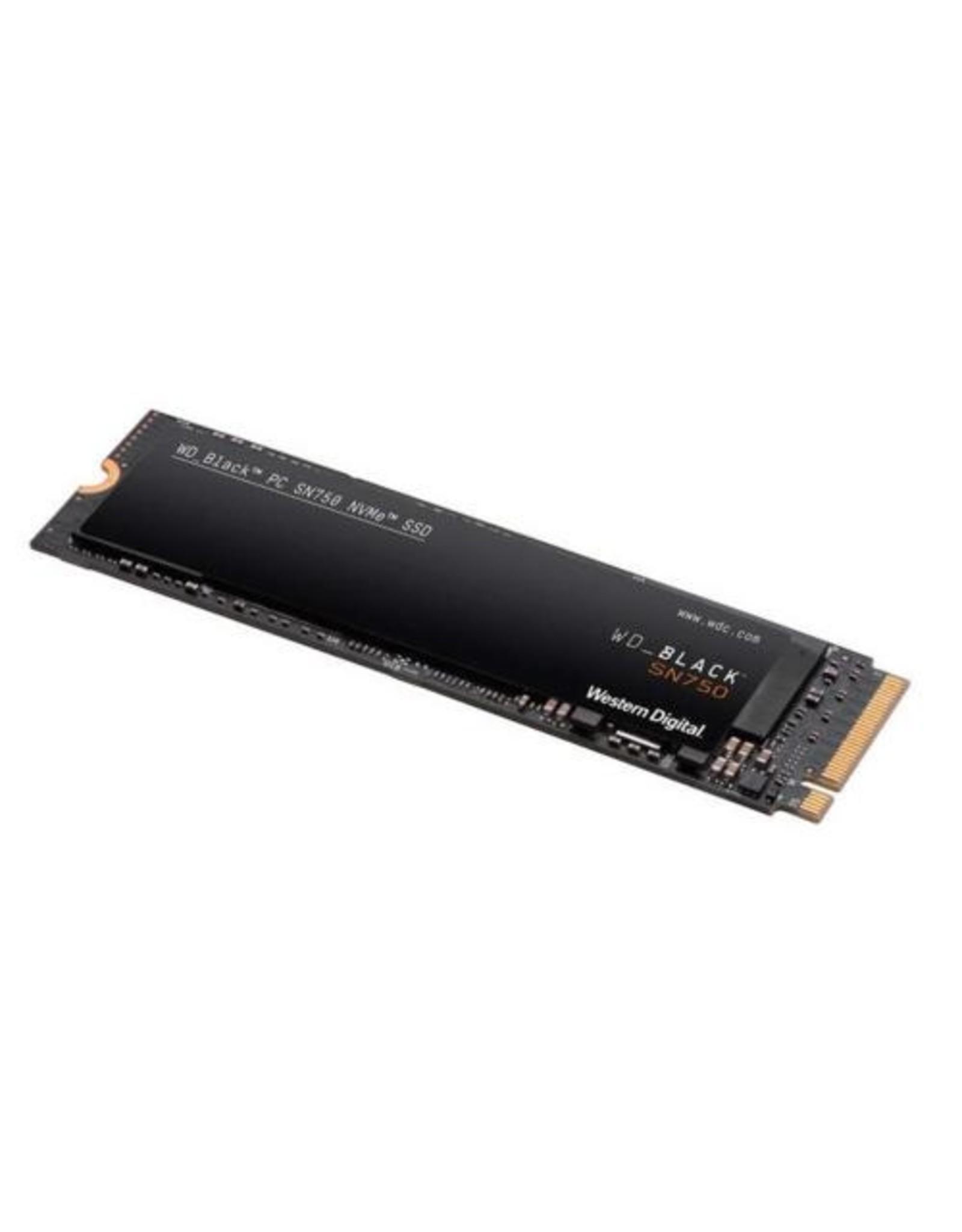 Western Digital SSD WD Black SN750 250GB M.2 NVMe (3100MB/s read 1600MB/s)