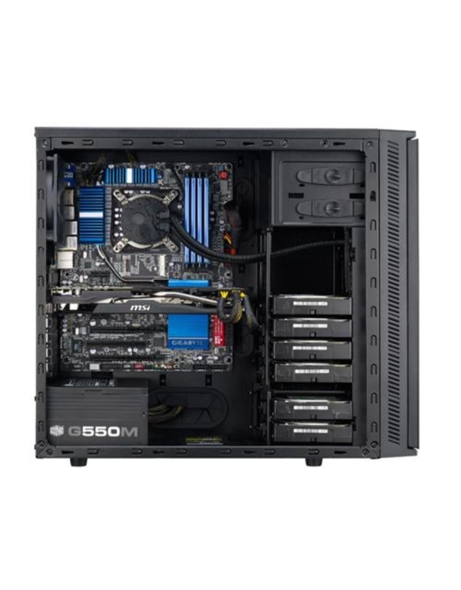 CoolerMaster Case  Silent Silencio 452 MidiTower mATX Black