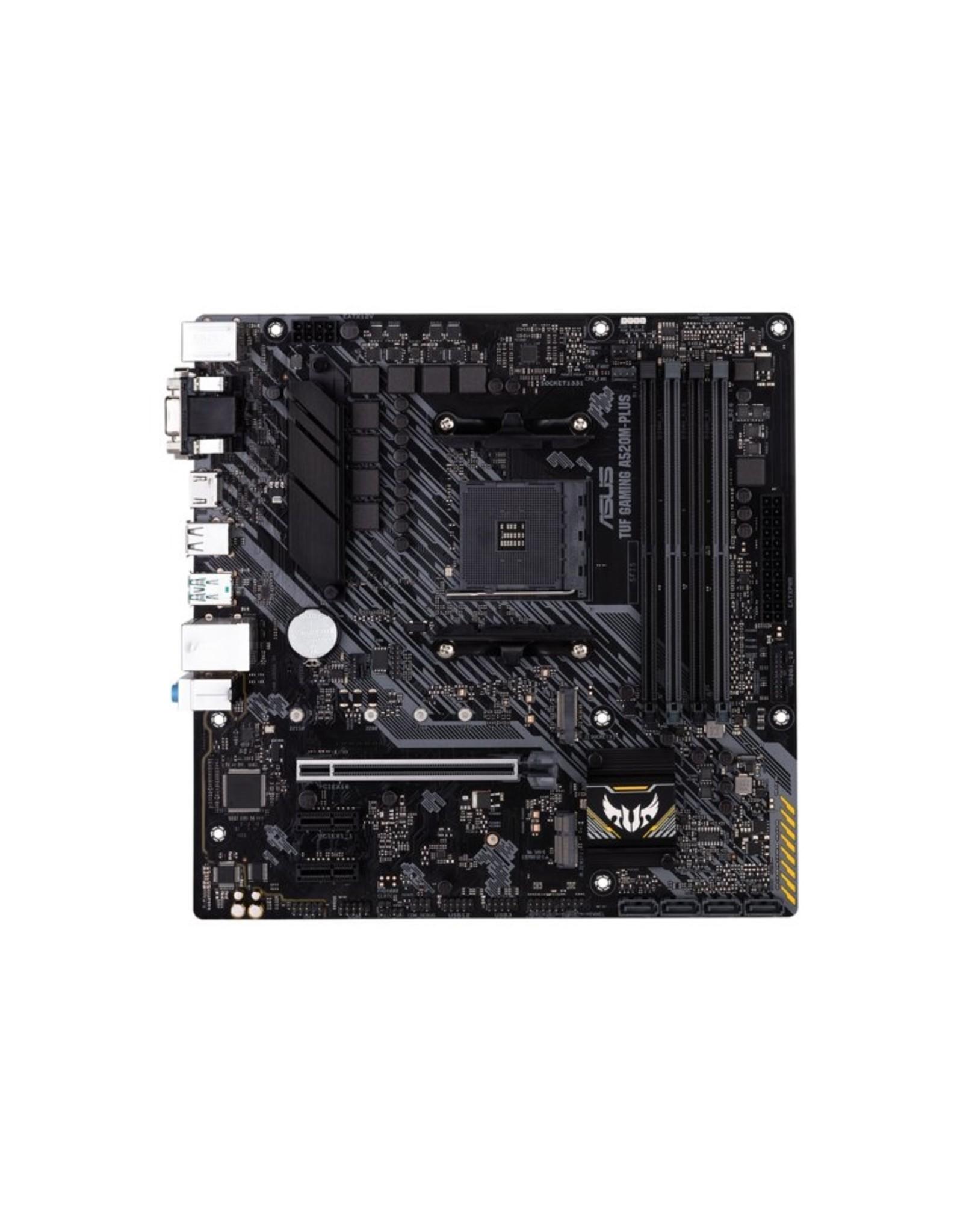 Asus MB  TUF GAMING A520M-PLUS AMD A520 AM4 mATX