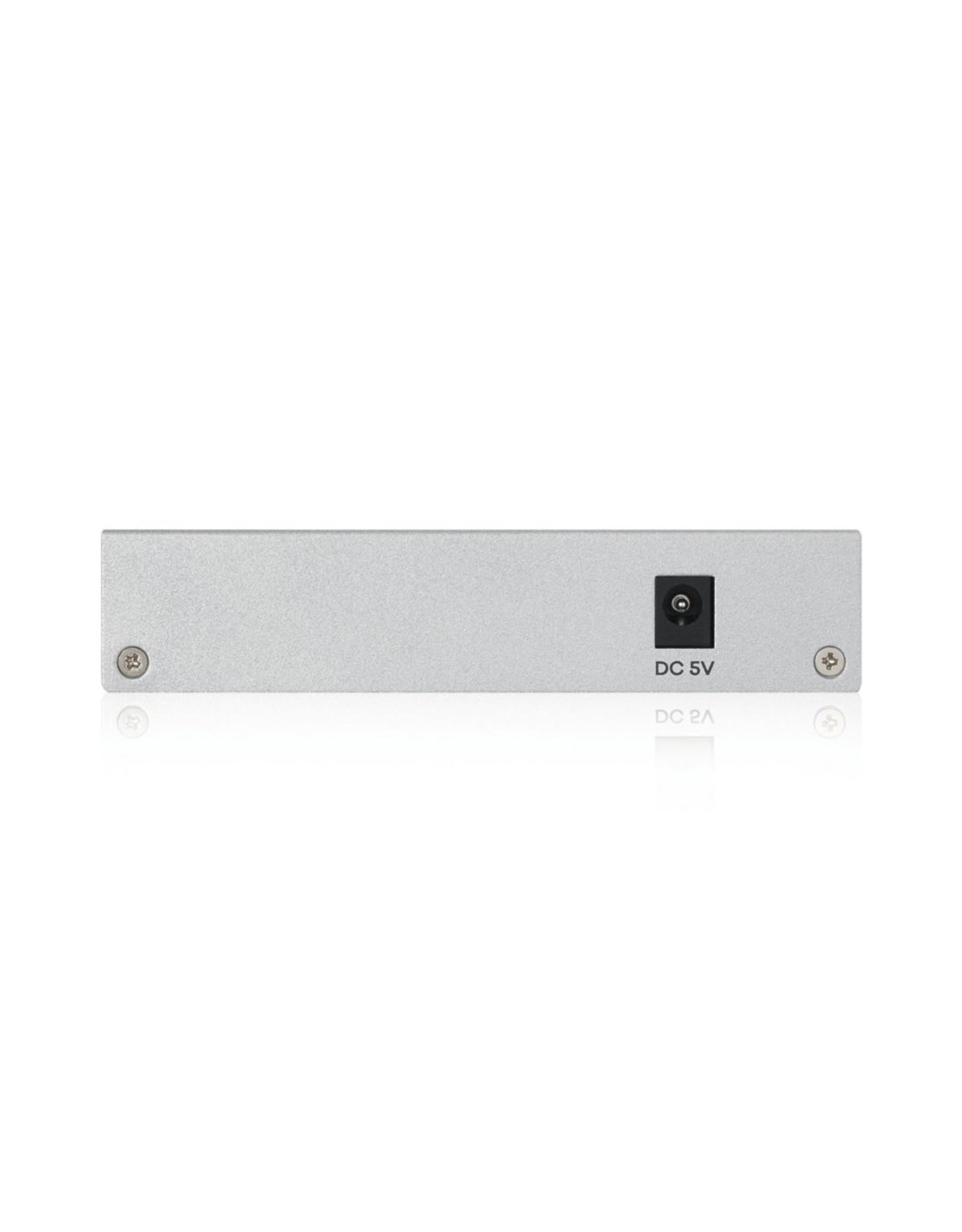 ZyXEL Zyxel GS1200-5 Managed Gigabit Ethernet Switch Zilver