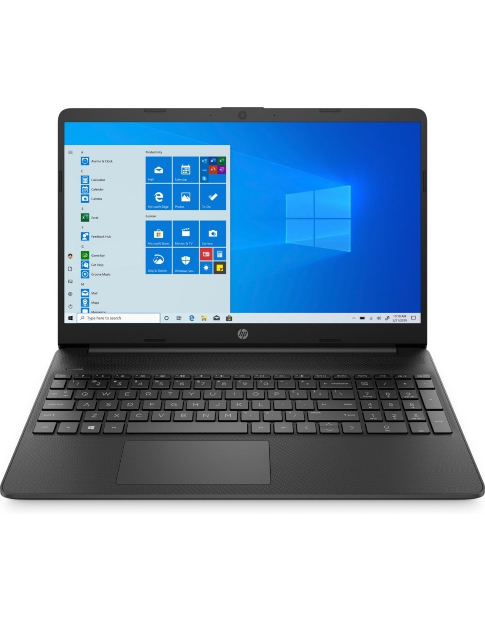 Hewlett Packard HP 15.6 F-HD RYZEN 3 3-3250U / 4GB / 512GB / W10 RFG (refurbished)