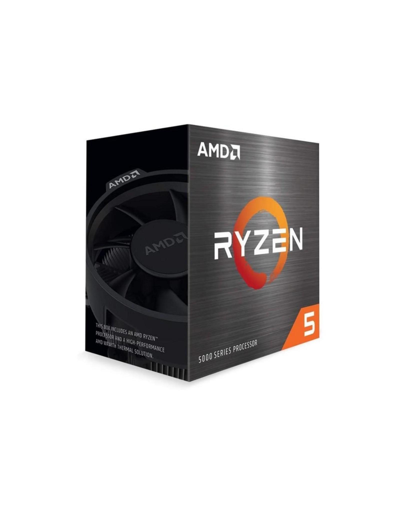 AMD CPU  Ryzen 5 5600X / 6core / AM4 / 3.7GHz-4.6GHz / Boxed