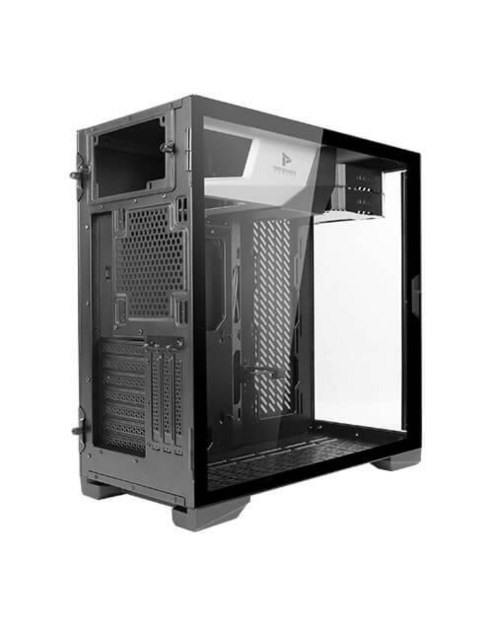 Antec Case  P120 Crystal Midi Tower Glass Steel Black