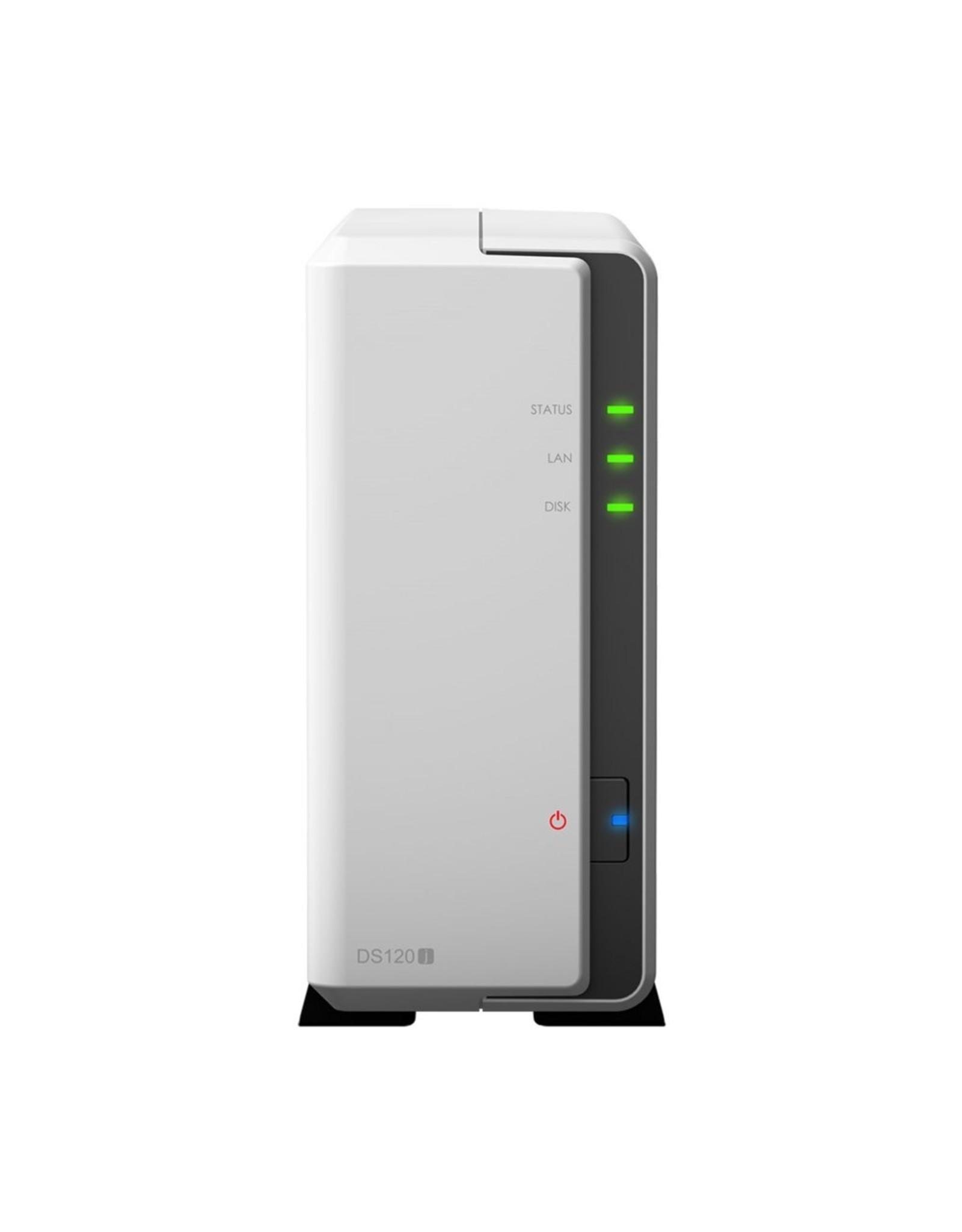 Synology DiskStation DS120j Ethernet LAN Toren Grijs NAS