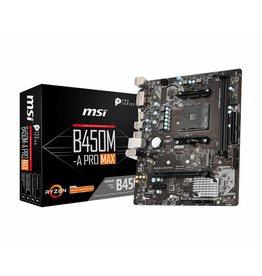 MSI B450M-A PRO MAX moederbord AMD B450 Socket AM4 micro ATX