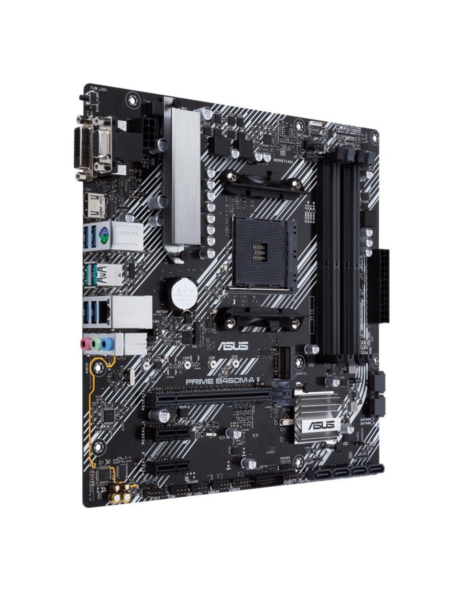 Asus MB  PRIME B450M-A AM4 / m.2 / mATX