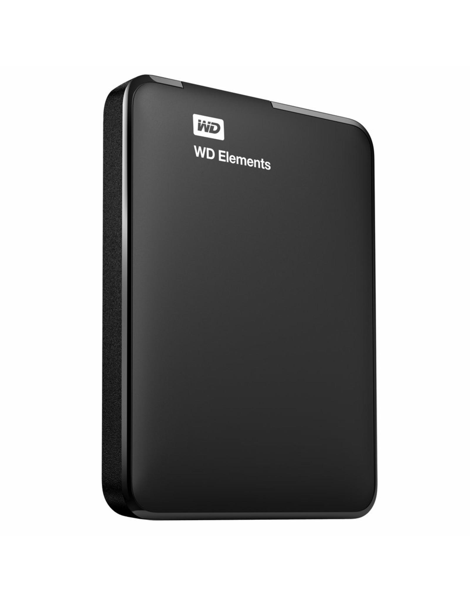 Western Digital HDD Ext. WD Elements Portable USB 3.0 4TB Zwart