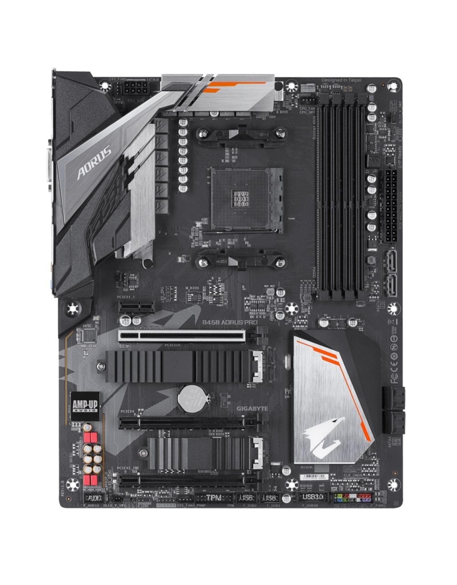 Gigabyte MB  B450 AORUS PRO AMD B450 AM4 ATX
