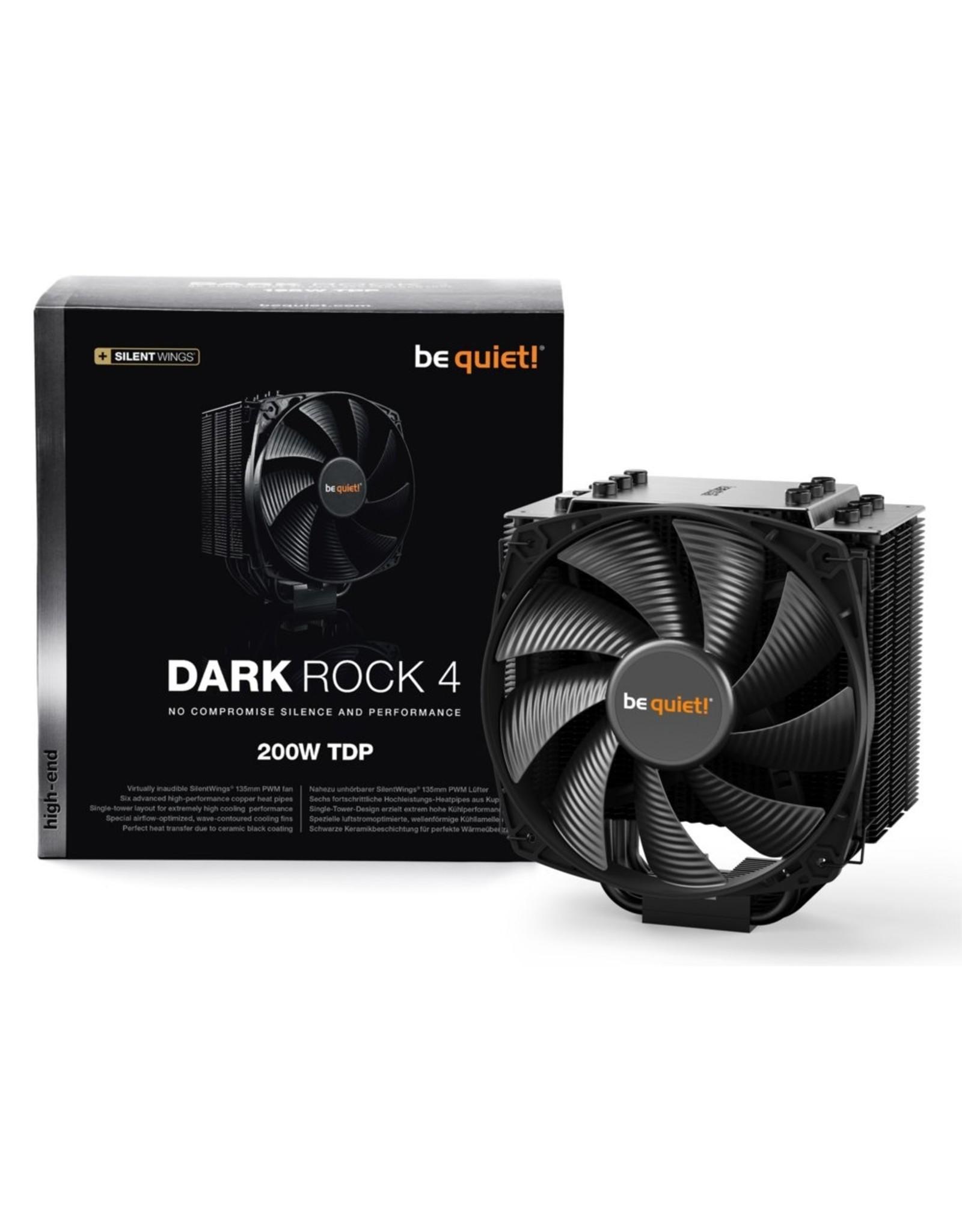 be quiet! Be quiet! Dark Rock 4 Processor Koeler 135mm Black