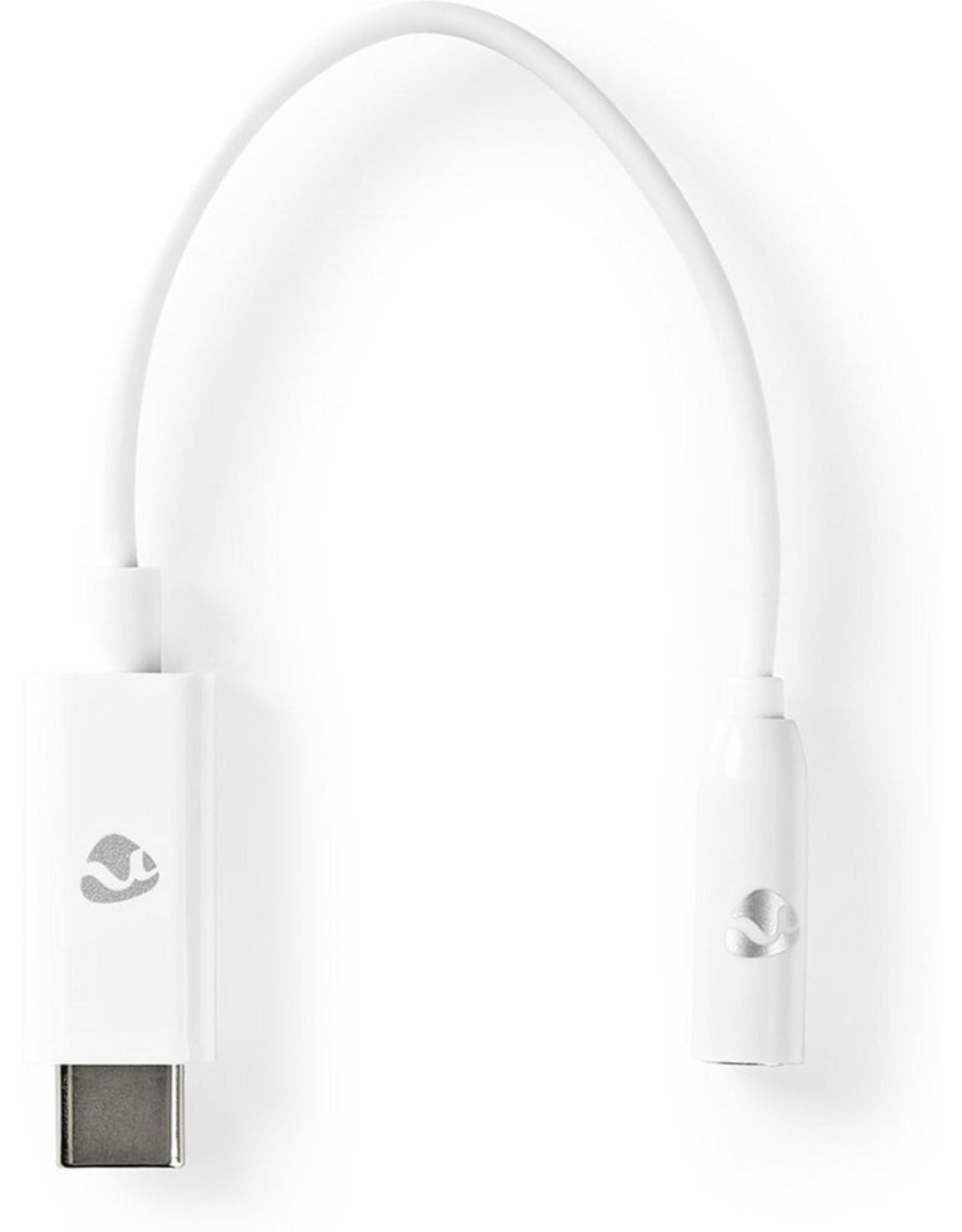 Nedis USB-C Adapter | USB-C Male - 3,5 mm Female | 0,15 m | Wit