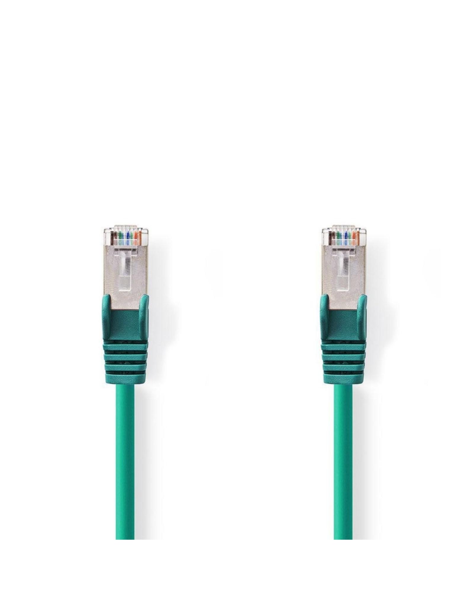 Nedis CAT6 S/FTP-netwerkkabel/RJ45 1m Groen