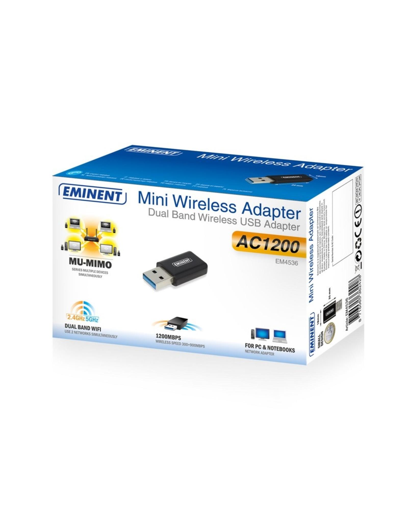 Eminent Wireless AC1200 MU-MIMO usb ad micro stick