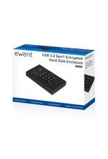 "Ewent USB 3.1 2.5"" SATA HDD/SSD Screwless Enclosure"