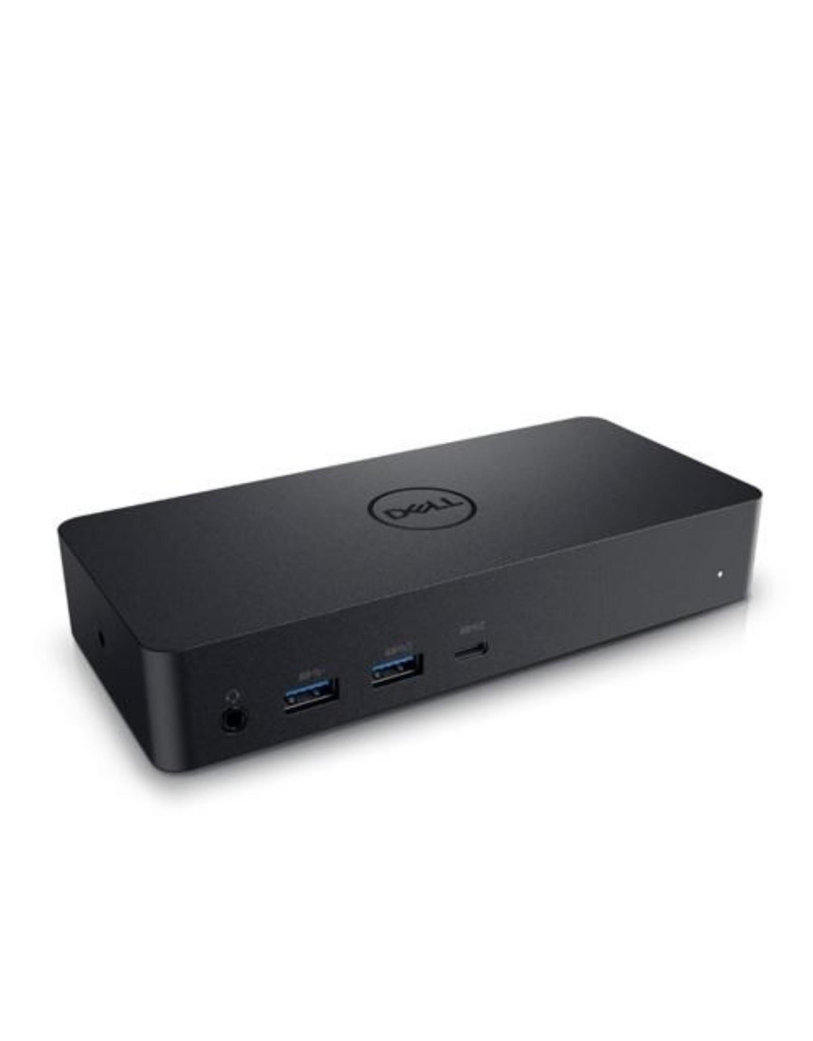 Dell DELL D6000 Docking Station USB 3.0 (3.1 Gen 1) Type-C Zwart
