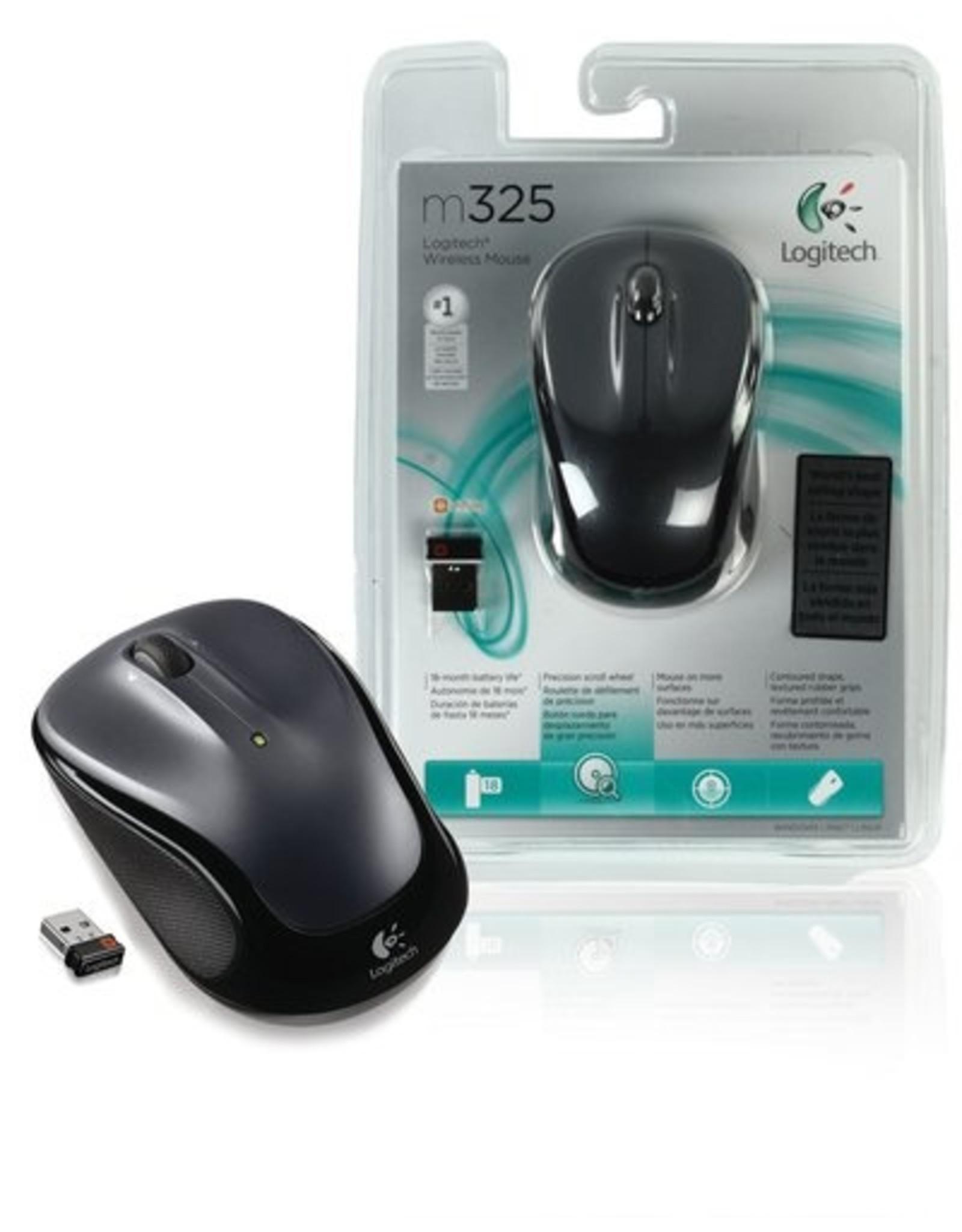 Logitech Ret. Wireless Mouse M325 Zwart