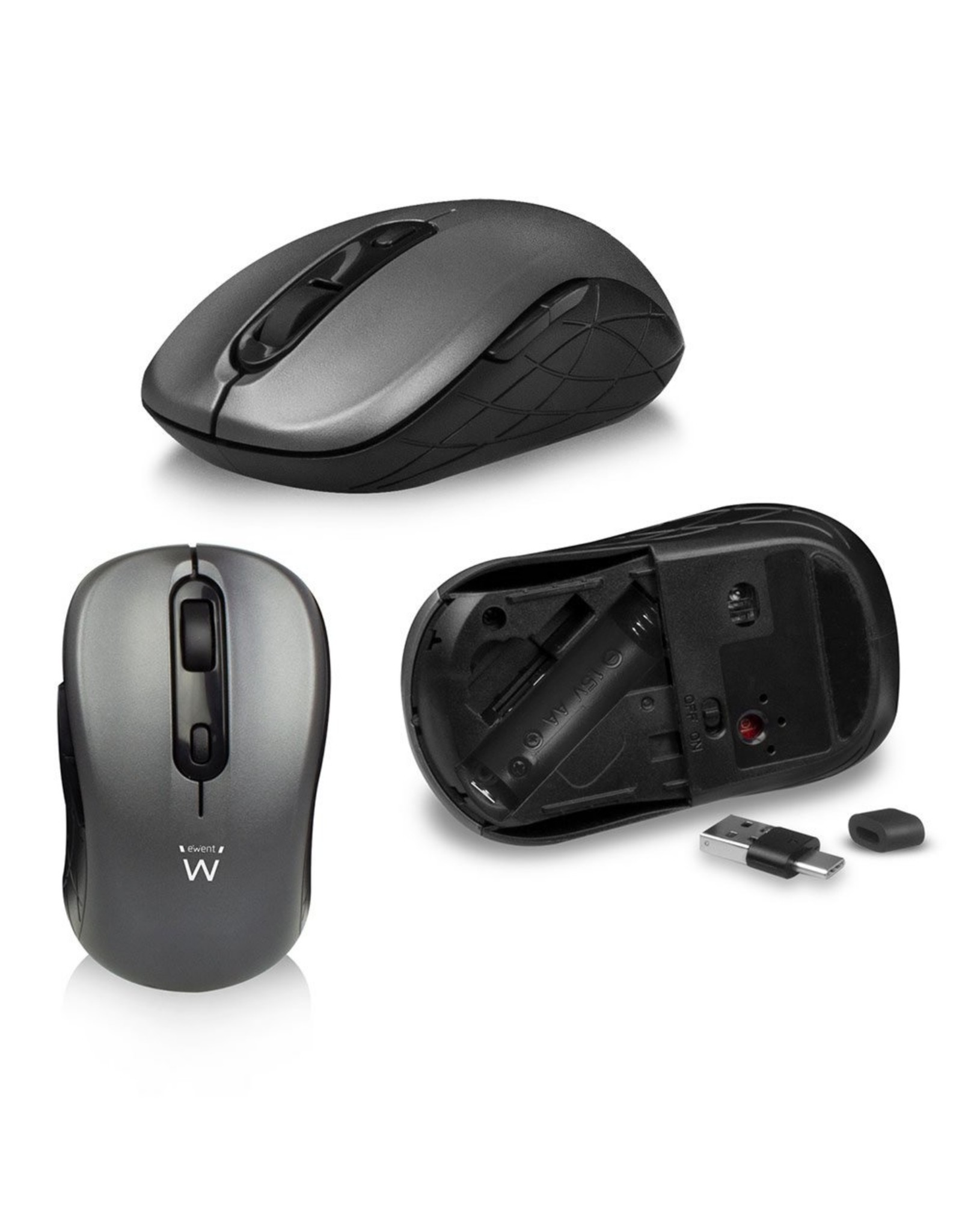 Ewent Wireless Keyboard + Mouse / Low Profile keys