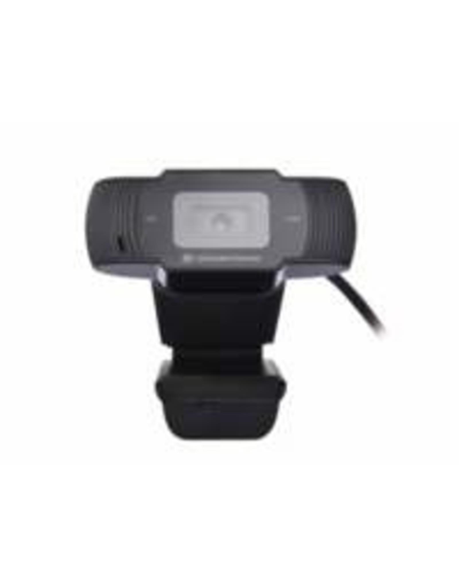 OEM Conceptronic AMDIS 720P HD Webcam + Microphone zwart