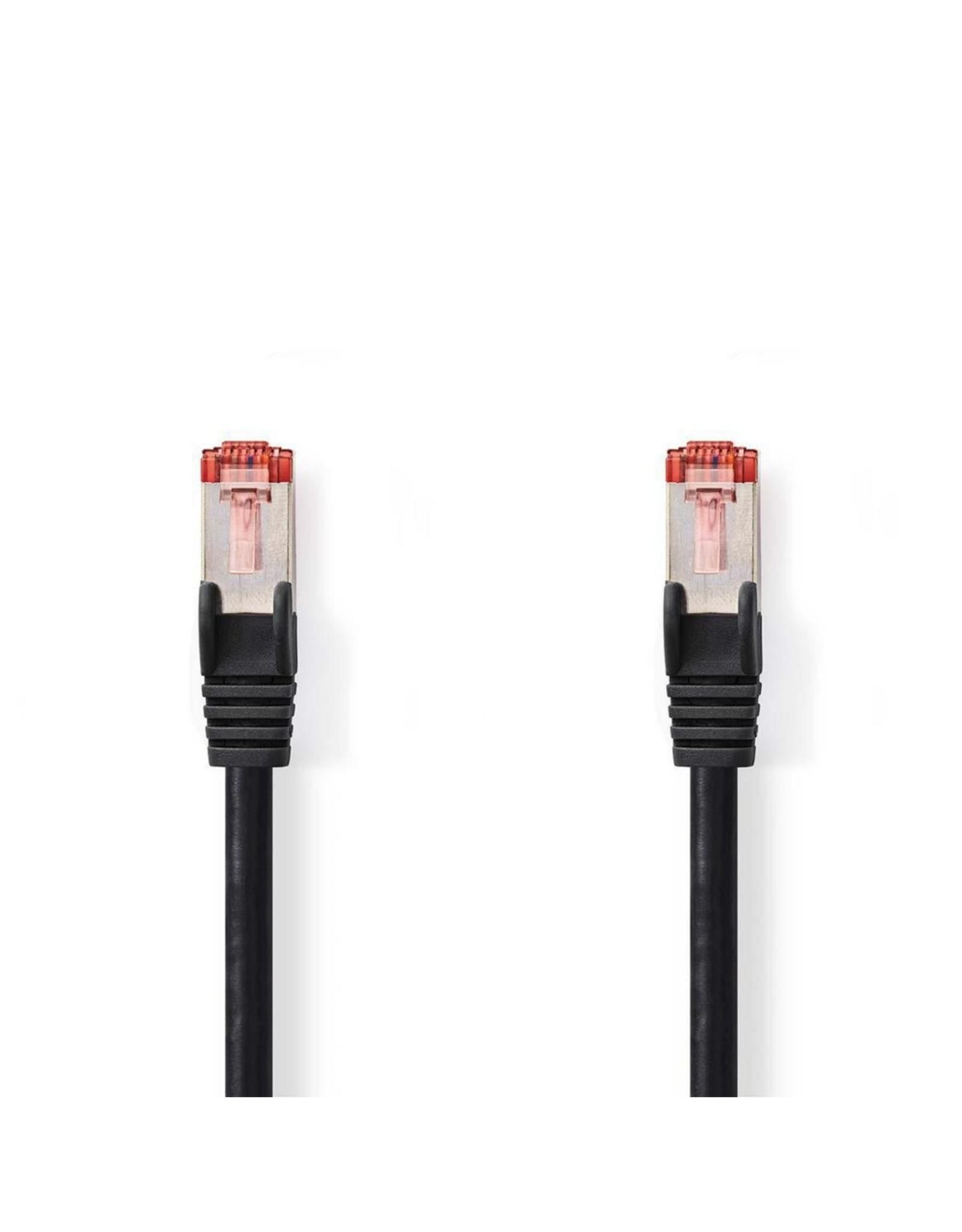 Nedis CAT6 S/FTP-netwerkkabel/RJ45 5m Zwart