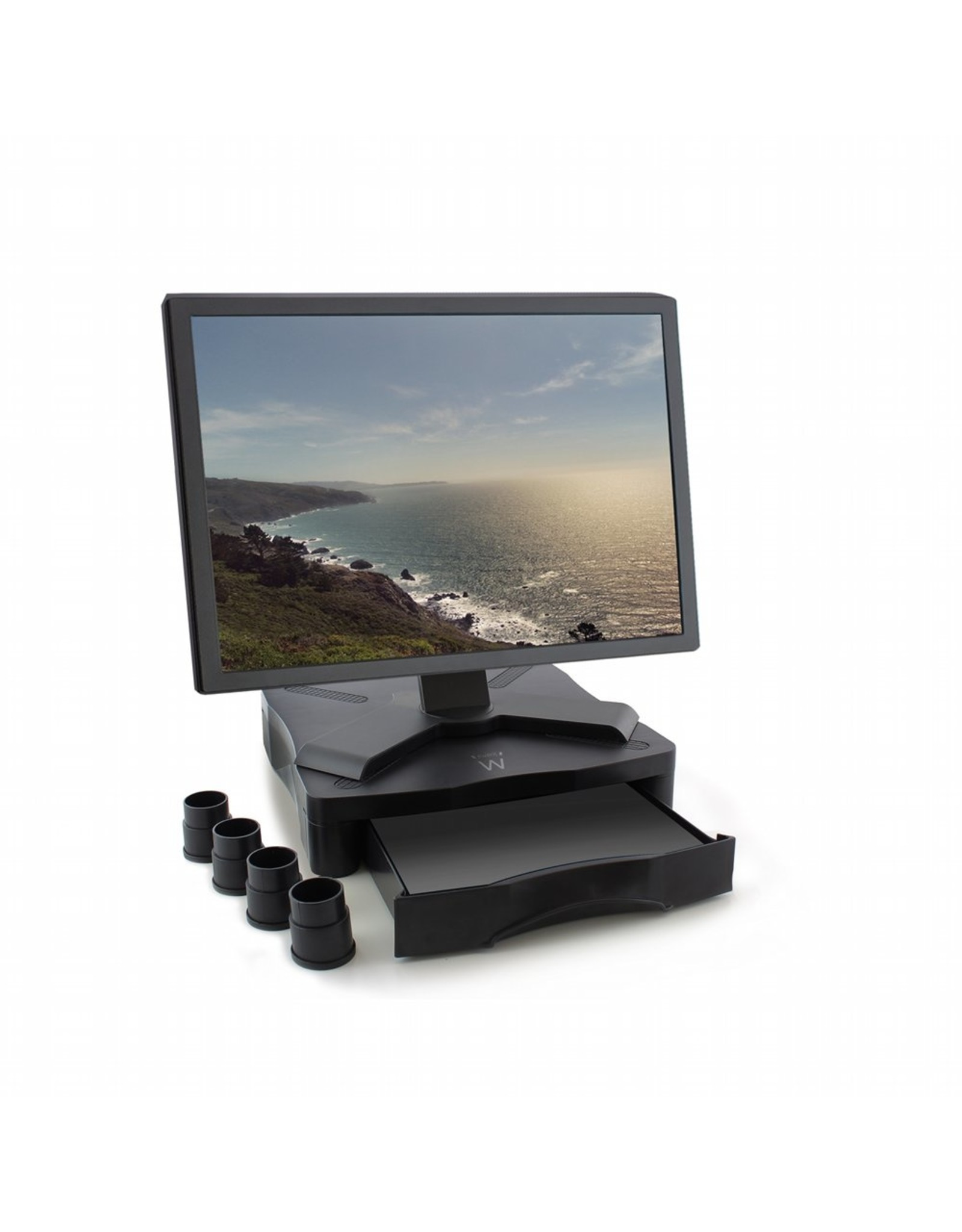 Ewent Monitor riser with drawer