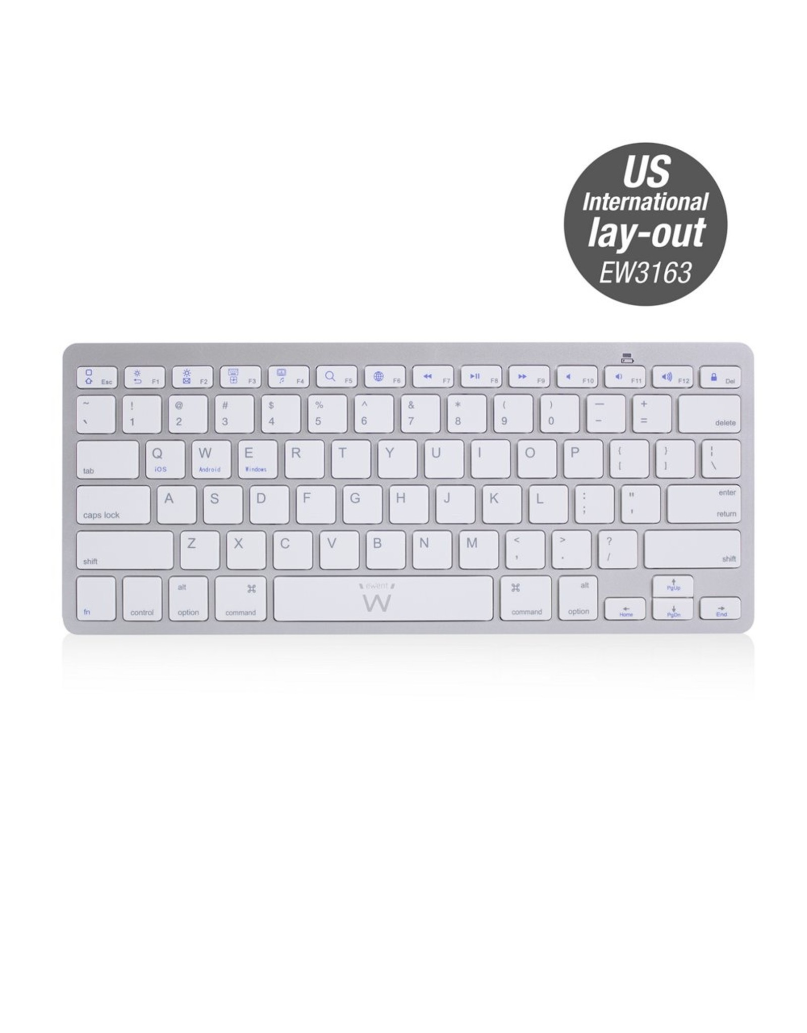 Ewent Bluetooth keyboard US lay-out