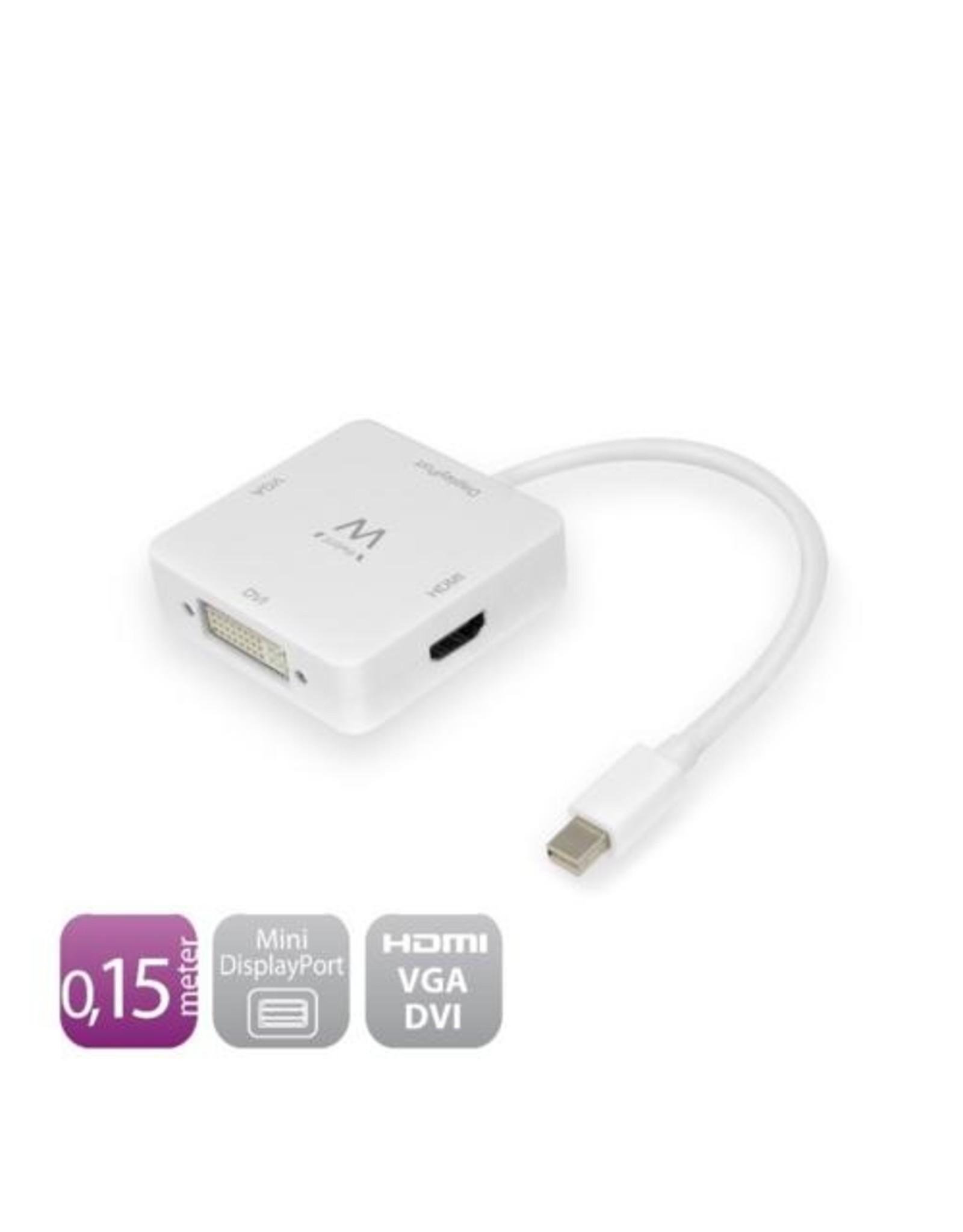 Ewent Converter Cable Mini DisplayPort male - HDMI (4k@30Hz) / VGA