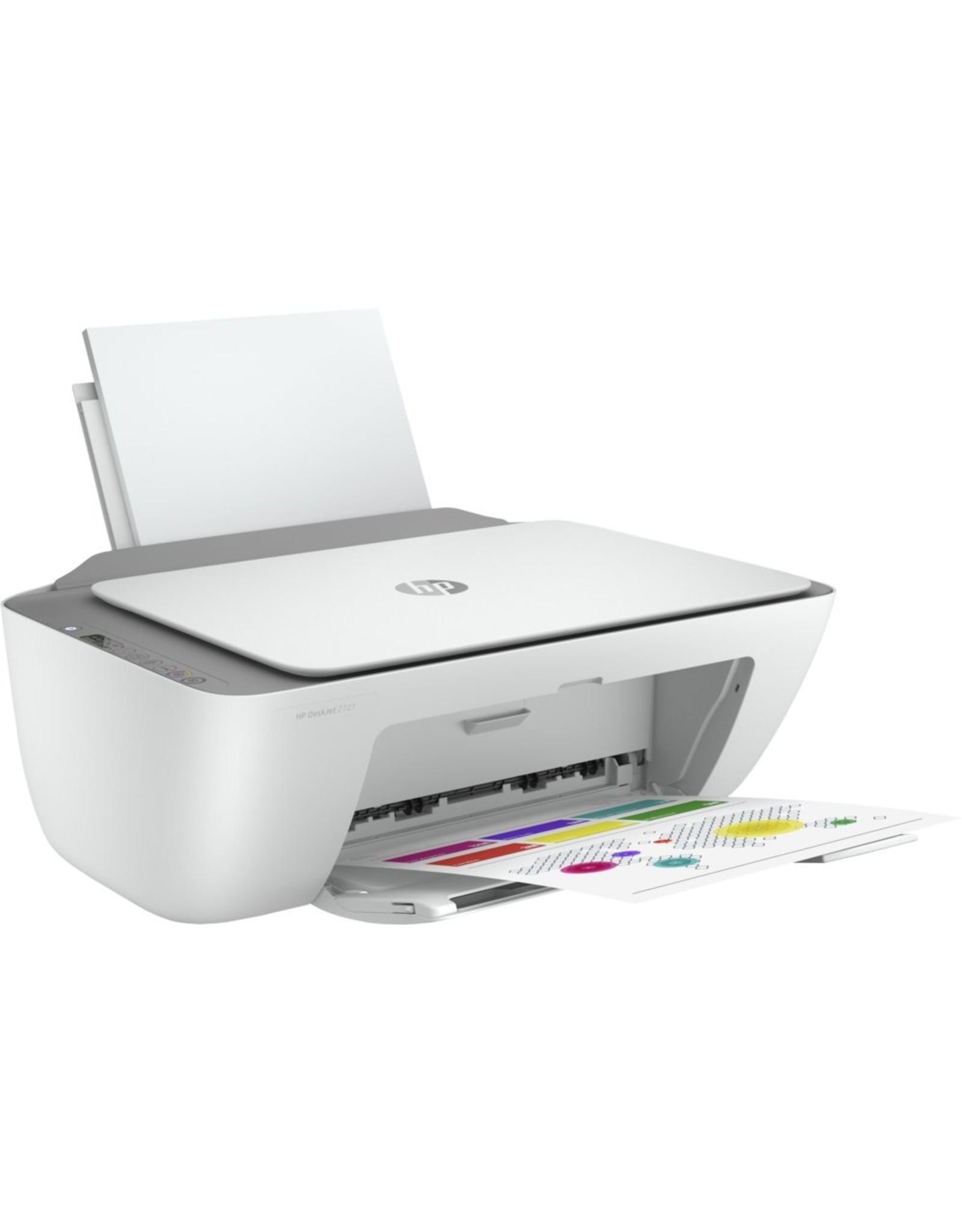 Hewlett Packard HP Deskjet Printer 2721 AiO / Color / WiFi