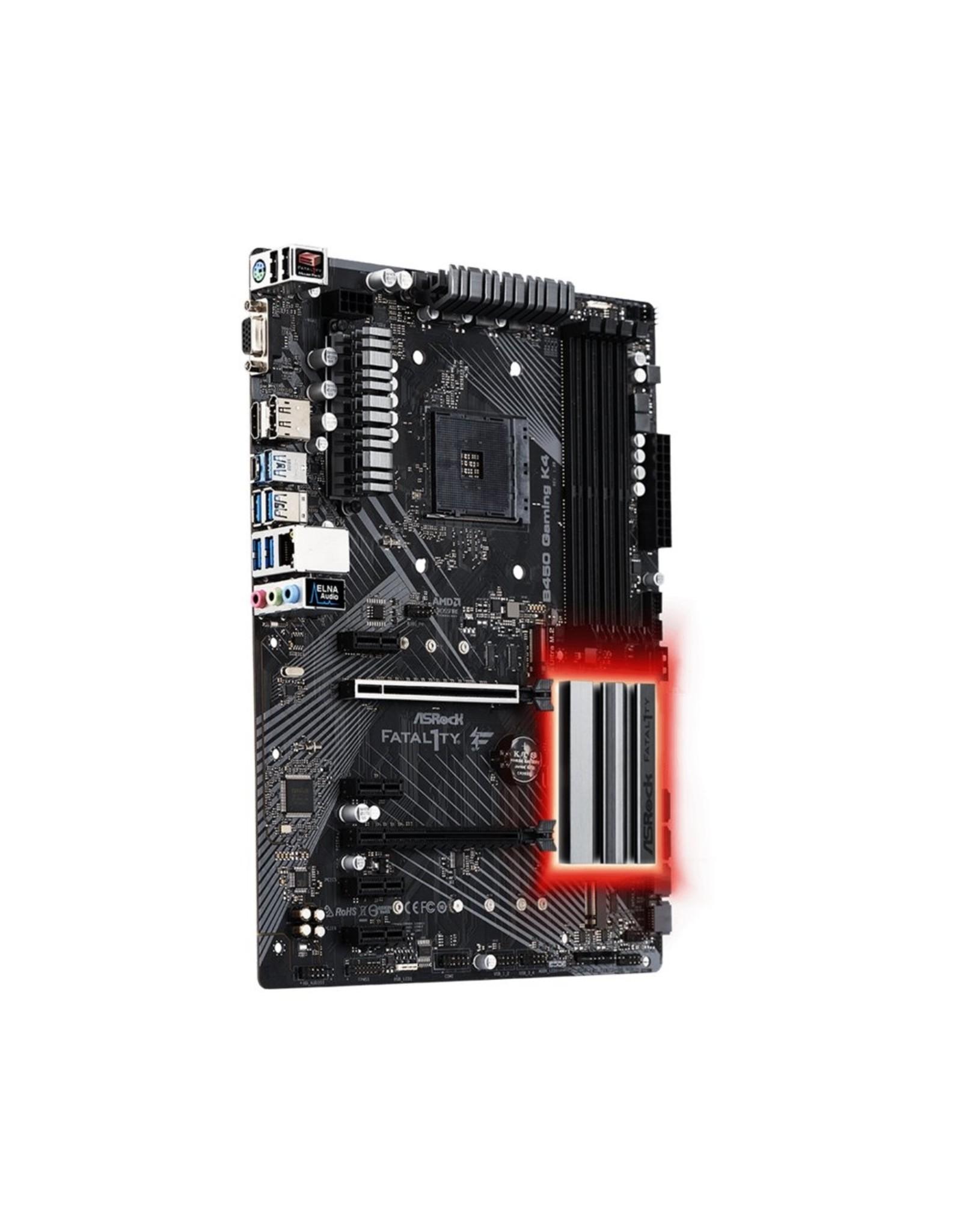 Asrock MB  Fatal1ty B450 Gaming K4 AMD B450 Socket AM4 ATX