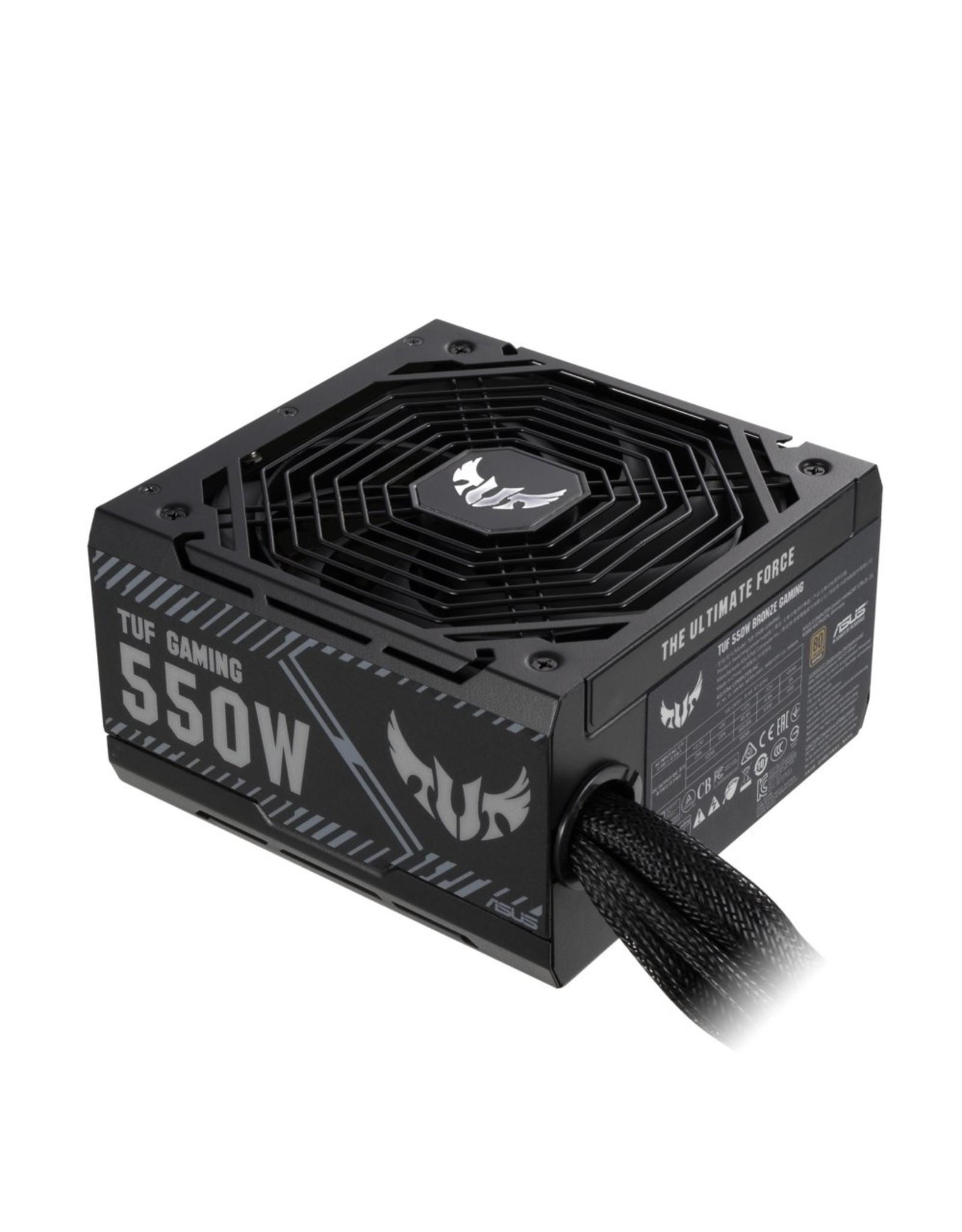 Asus PSU ASUS TUF-GAMING-550B 550 W 24-pin ATX ATX Zwart