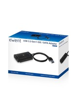 Ewent USB 3.2 Gen1 to IDE + SATA adapter with power supply