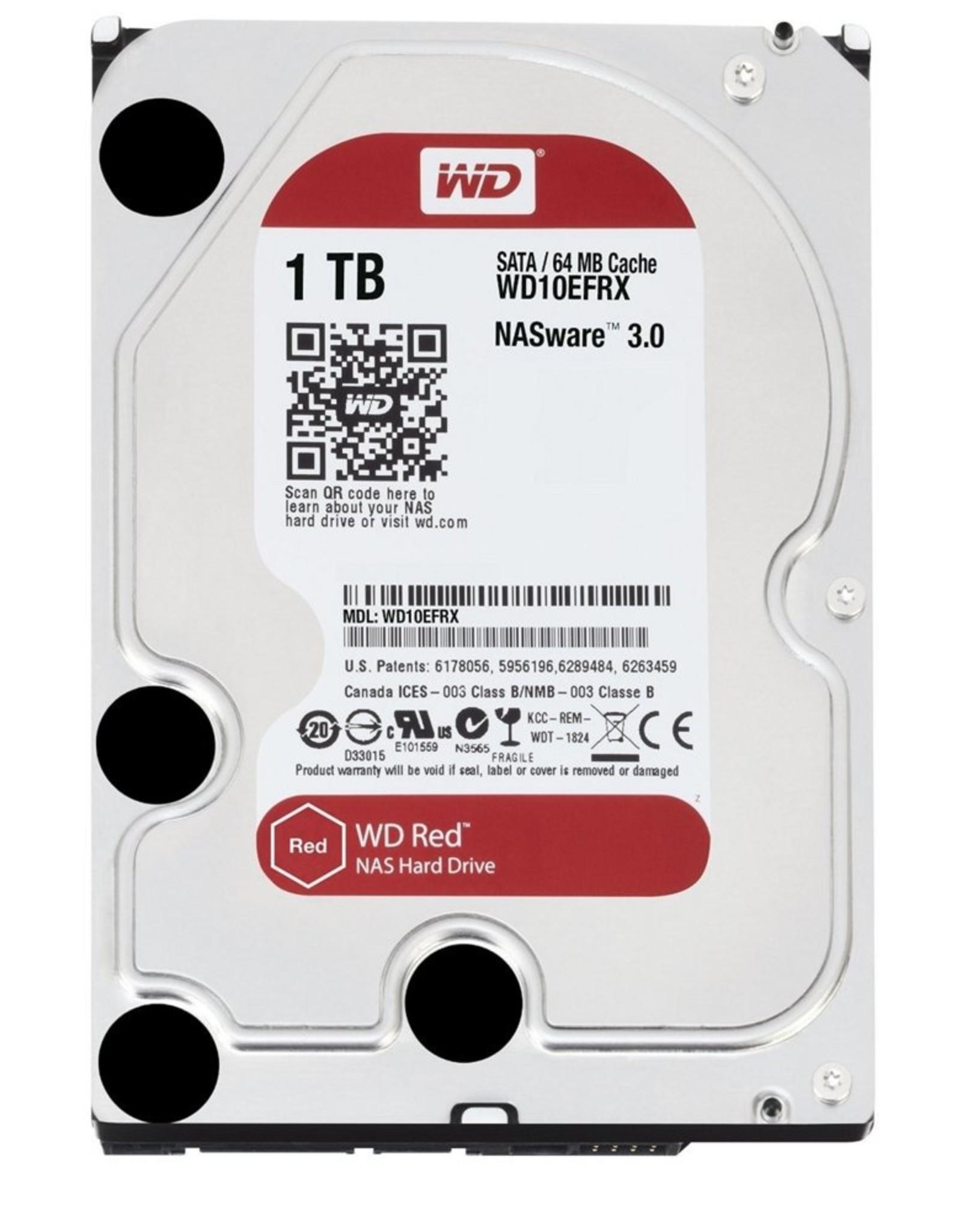Western Digital HDD WD Red™ 1TB -3.5inch- 64MB - SATA3