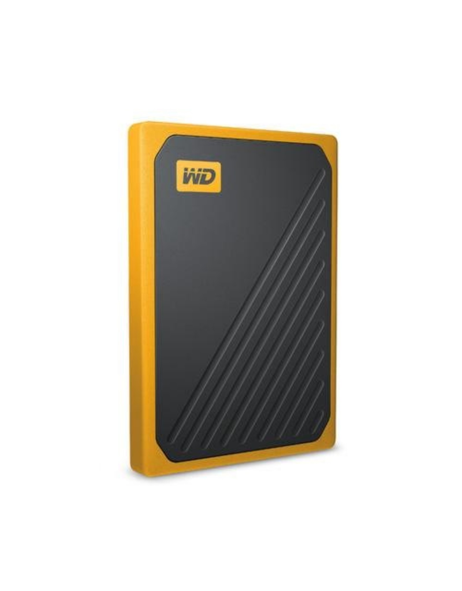 Western Digital SSD Ext  My Passport Go 500 GB Zwart, Geel