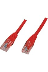 OEM Kabel Cat5e UTP - 0.5m - Rood