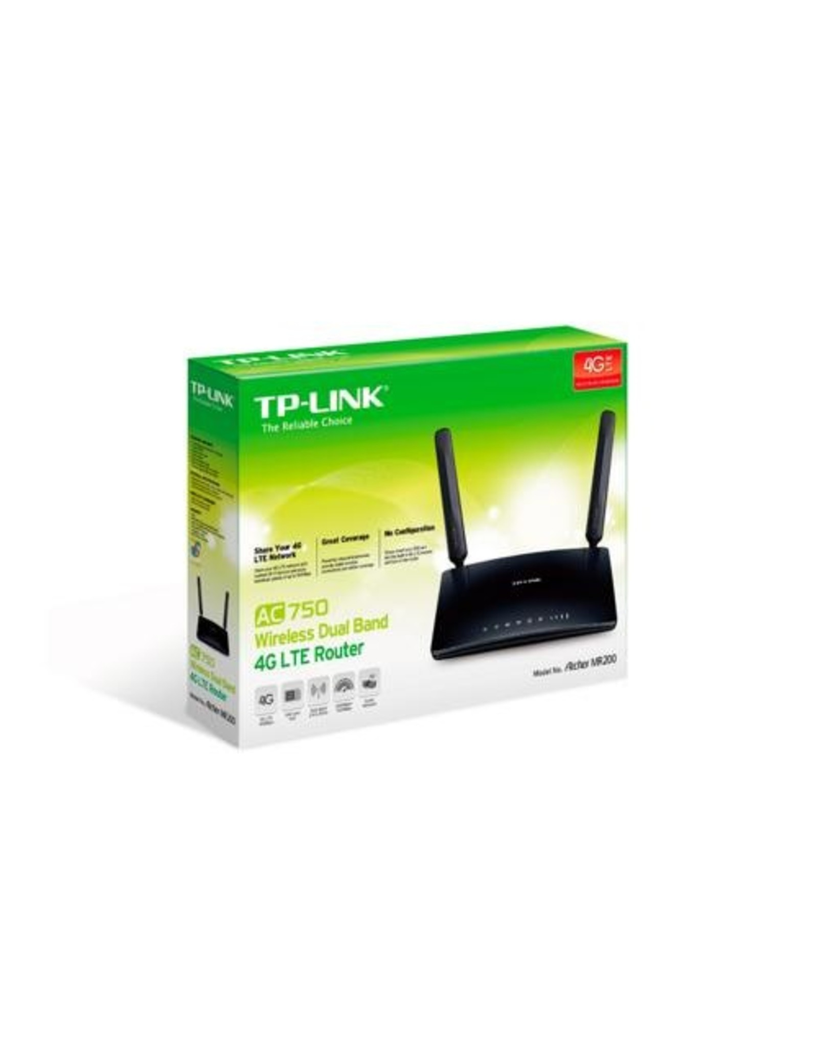 TP-Link Archer MR200 AC750 Wireless Dualband Wifi Router