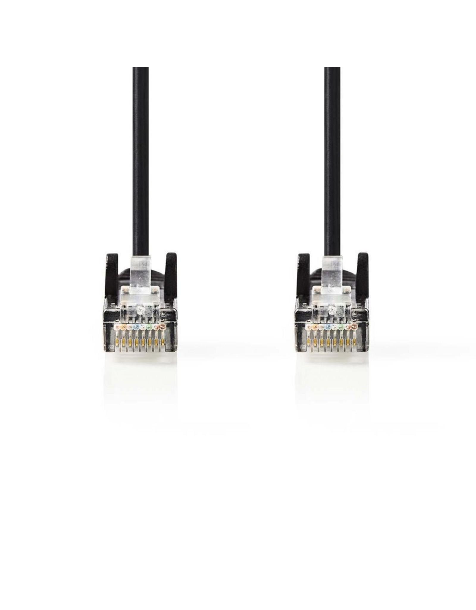 Nedis CAT5e UTP-Netwerkkabel/RJ45 2m Zwart