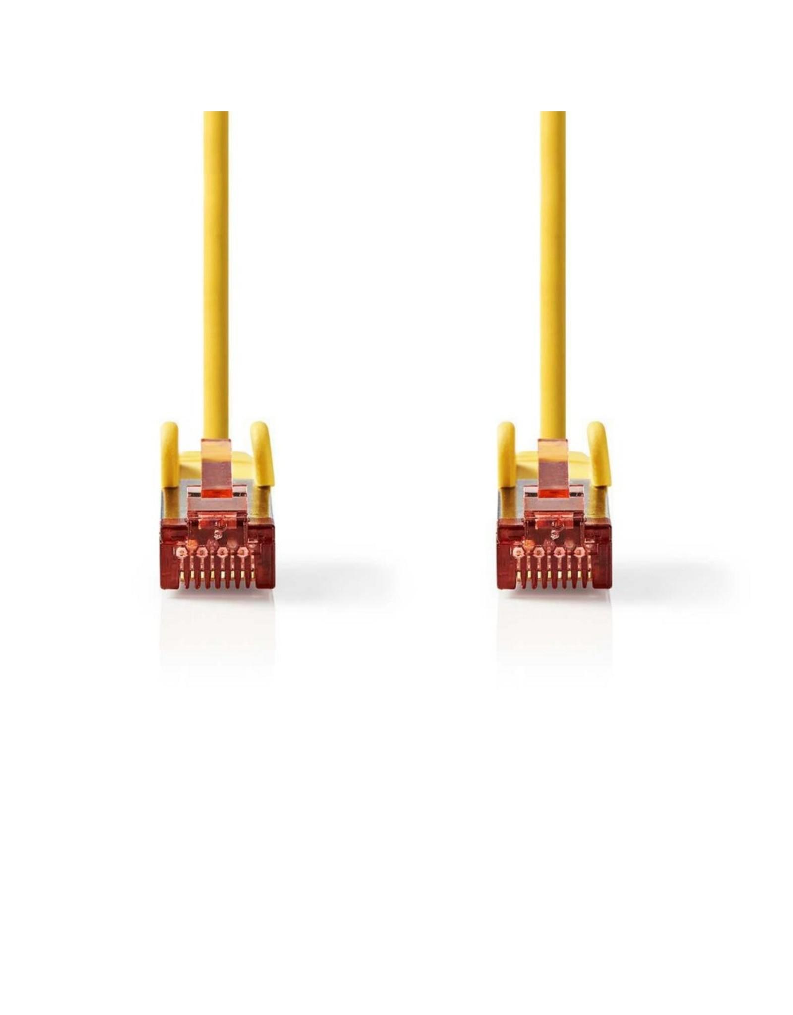 Nedis CAT6 S/FTP-netwerkkabel/RJ45 2m Geel